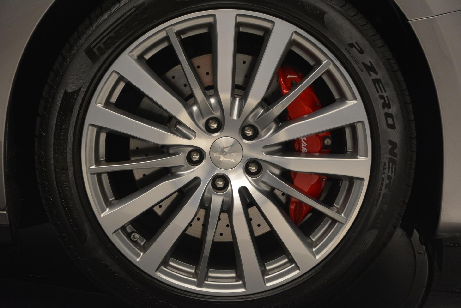 Used 2016 Maserati Ghibli S Q4  EX- LOANER For Sale In Greenwich, CT. Alfa Romeo of Greenwich, M1551 668_p27