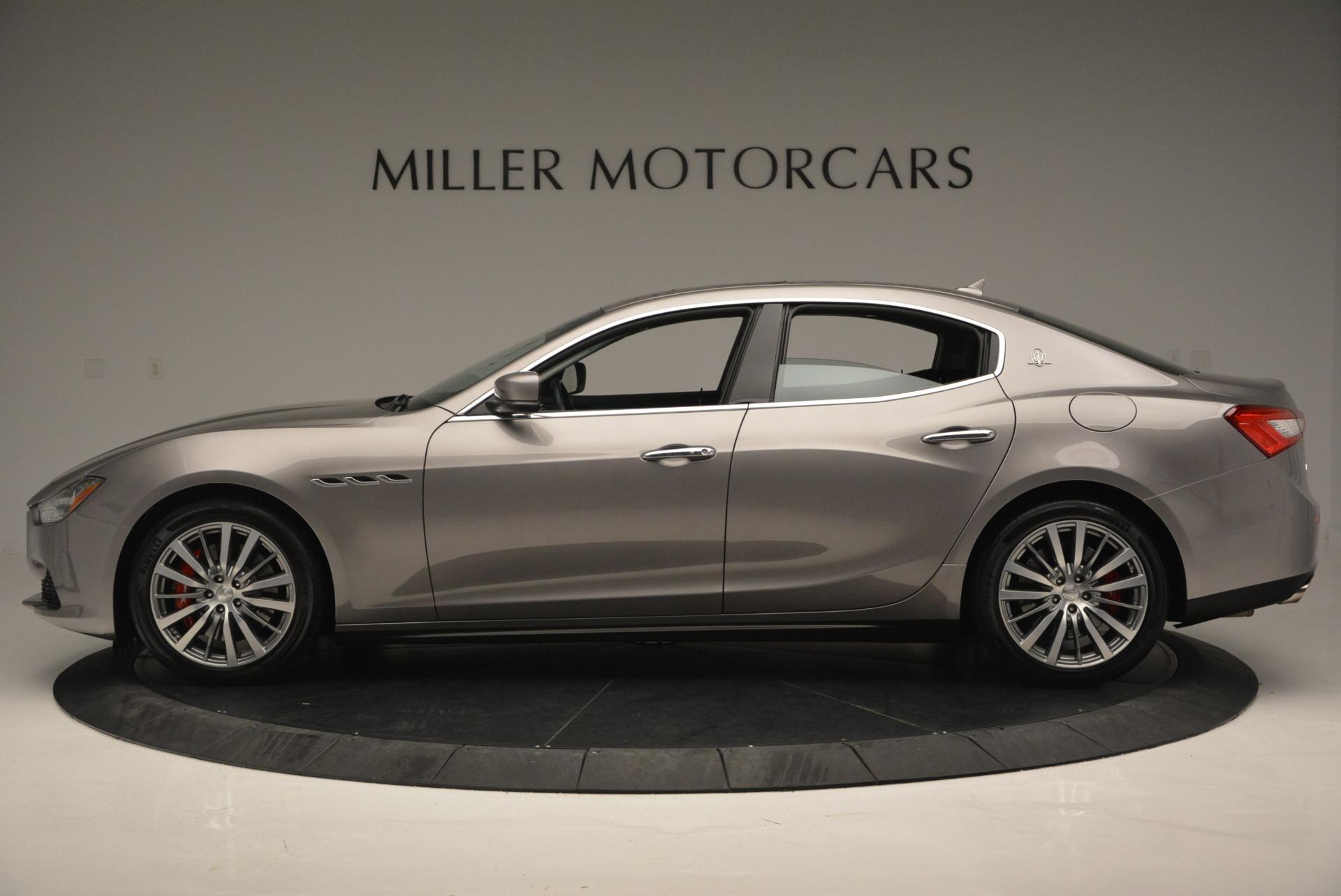 Used 2016 Maserati Ghibli S Q4  EX- LOANER For Sale In Greenwich, CT. Alfa Romeo of Greenwich, M1551 668_p3