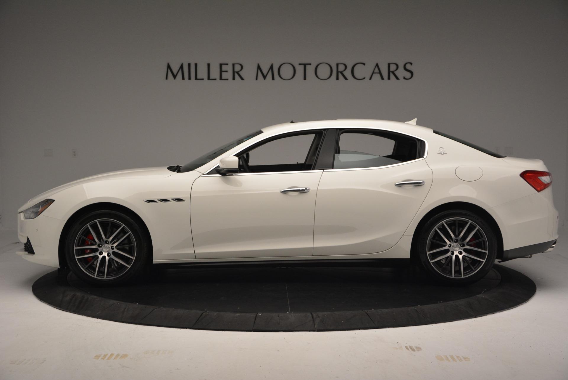 Used 2016 Maserati Ghibli S Q4  EX-LOANER For Sale In Greenwich, CT. Alfa Romeo of Greenwich, W252 669_p3