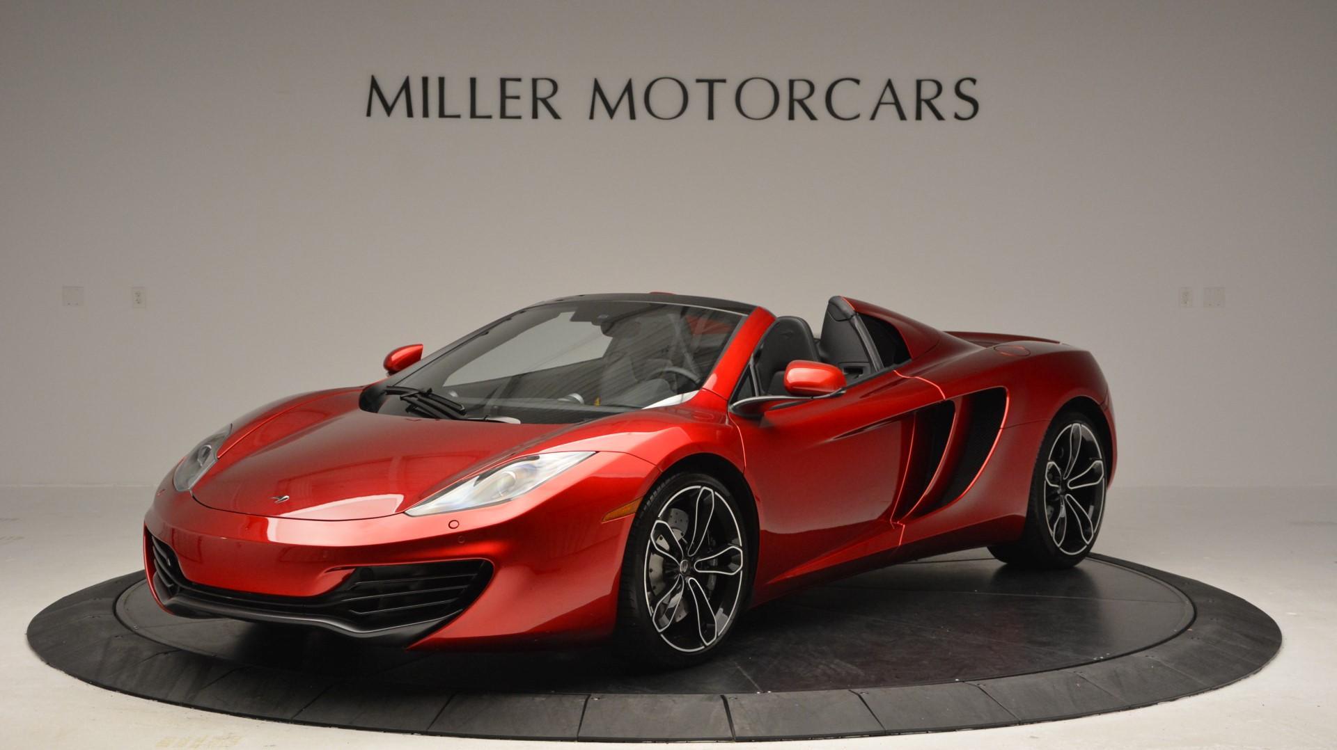 Used 2013 McLaren 12C Spider  For Sale In Greenwich, CT. Alfa Romeo of Greenwich, 3045 67_main