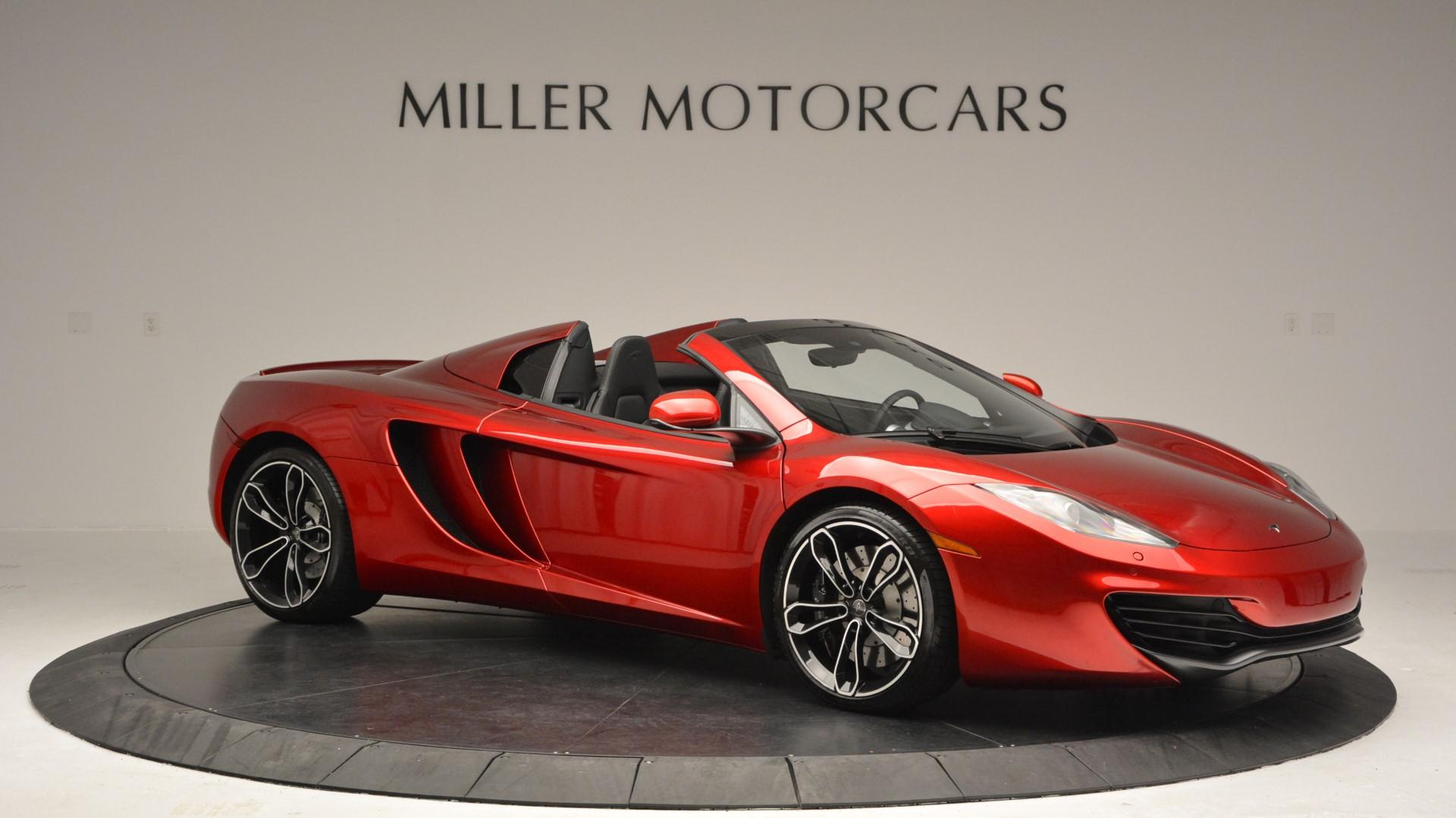 Used 2013 McLaren 12C Spider  For Sale In Greenwich, CT. Alfa Romeo of Greenwich, 3045 67_p10