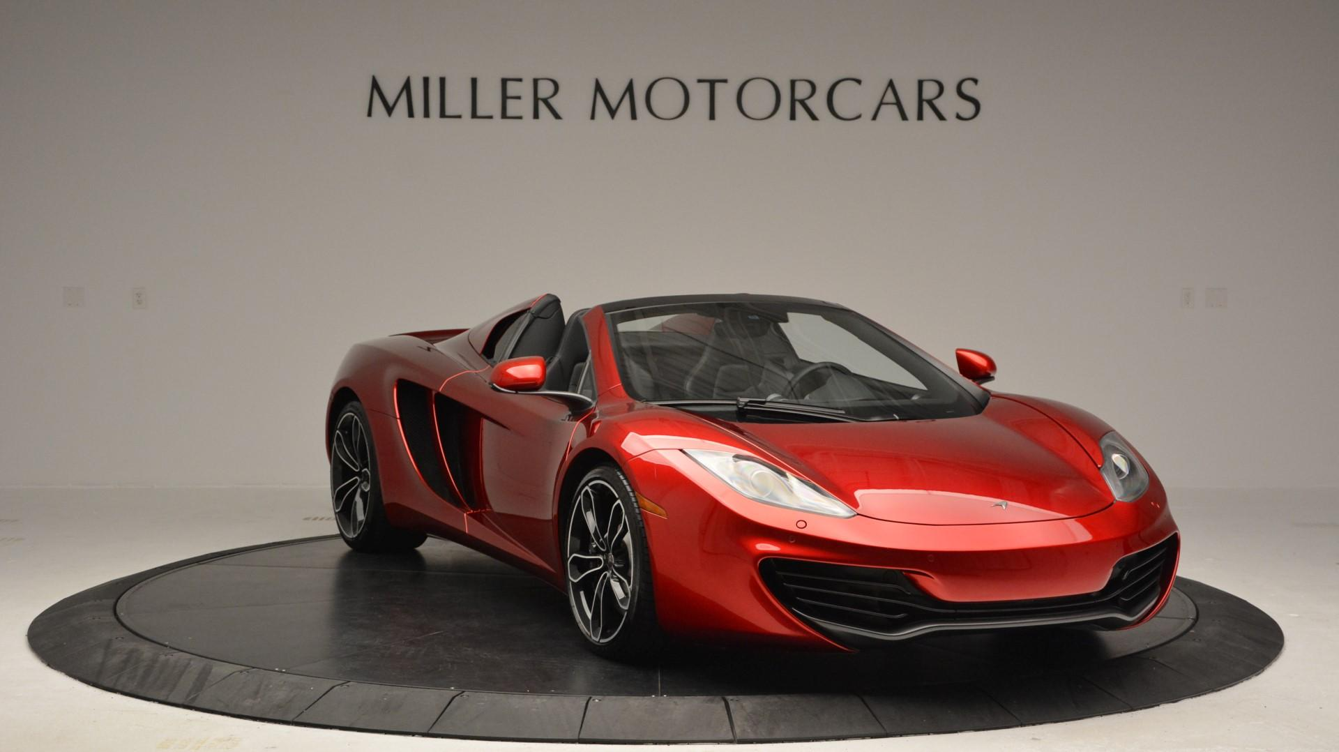 Used 2013 McLaren 12C Spider  For Sale In Greenwich, CT. Alfa Romeo of Greenwich, 3045 67_p11