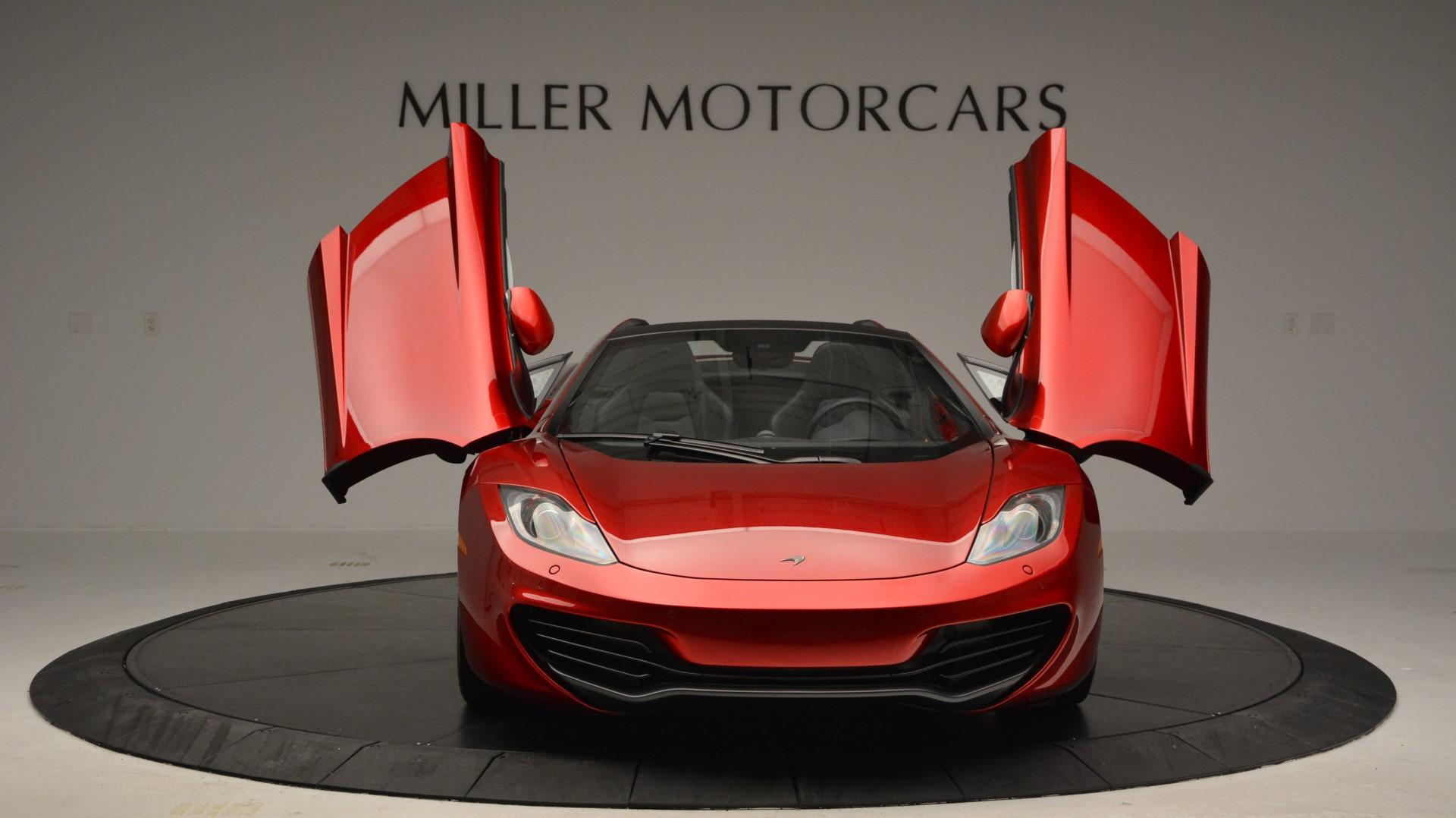 Used 2013 McLaren 12C Spider  For Sale In Greenwich, CT. Alfa Romeo of Greenwich, 3045 67_p13