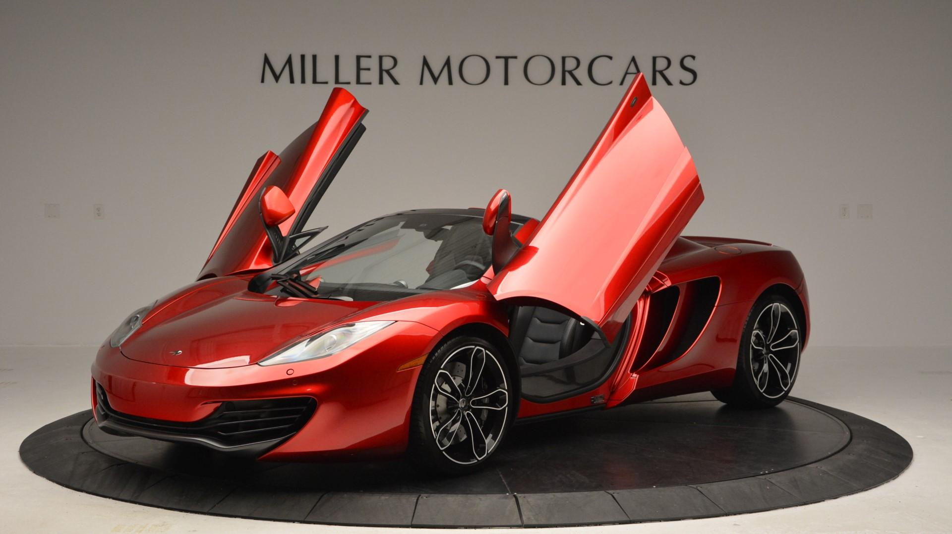 Used 2013 McLaren 12C Spider  For Sale In Greenwich, CT. Alfa Romeo of Greenwich, 3045 67_p14