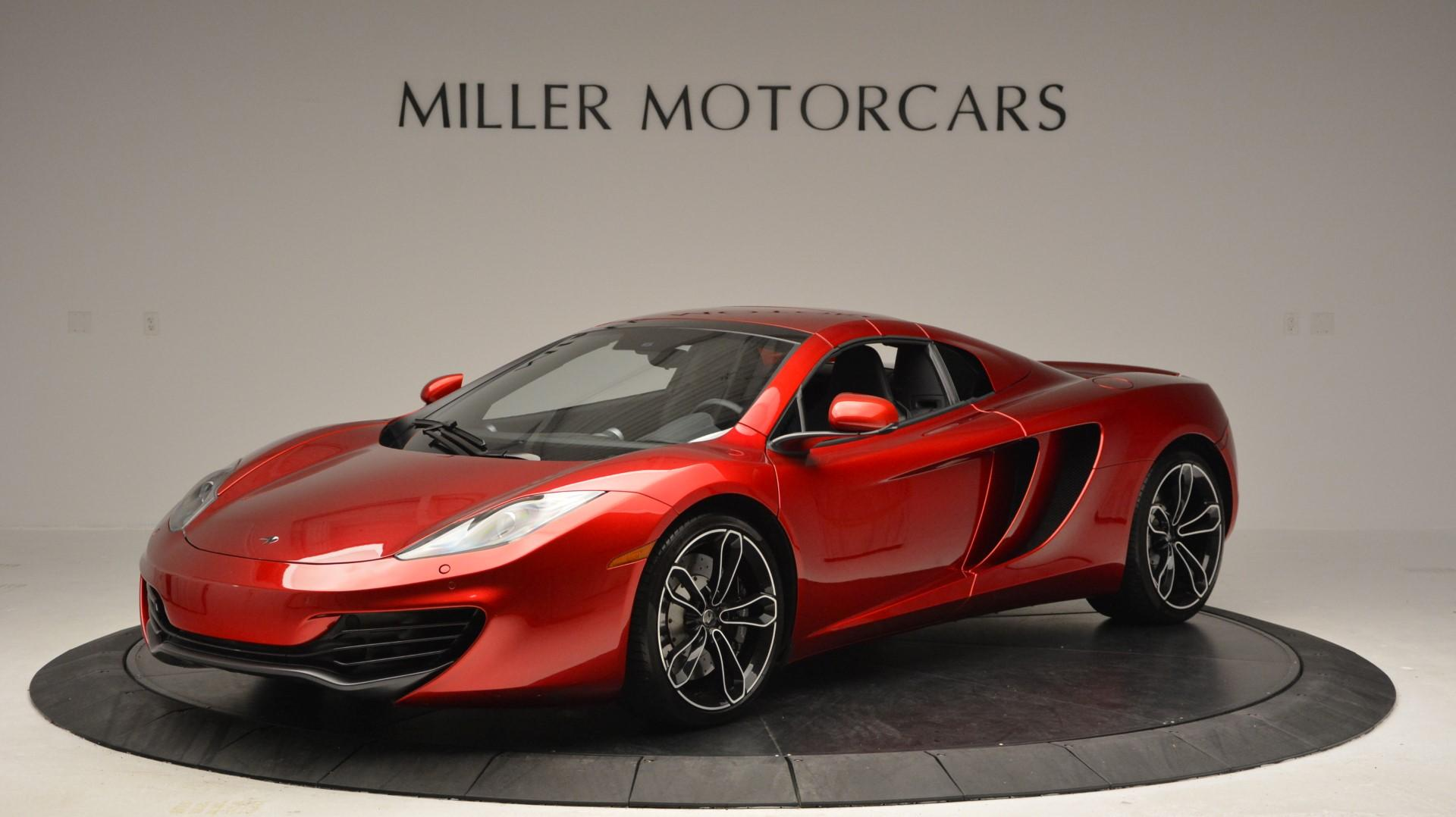 Used 2013 McLaren 12C Spider  For Sale In Greenwich, CT. Alfa Romeo of Greenwich, 3045 67_p15