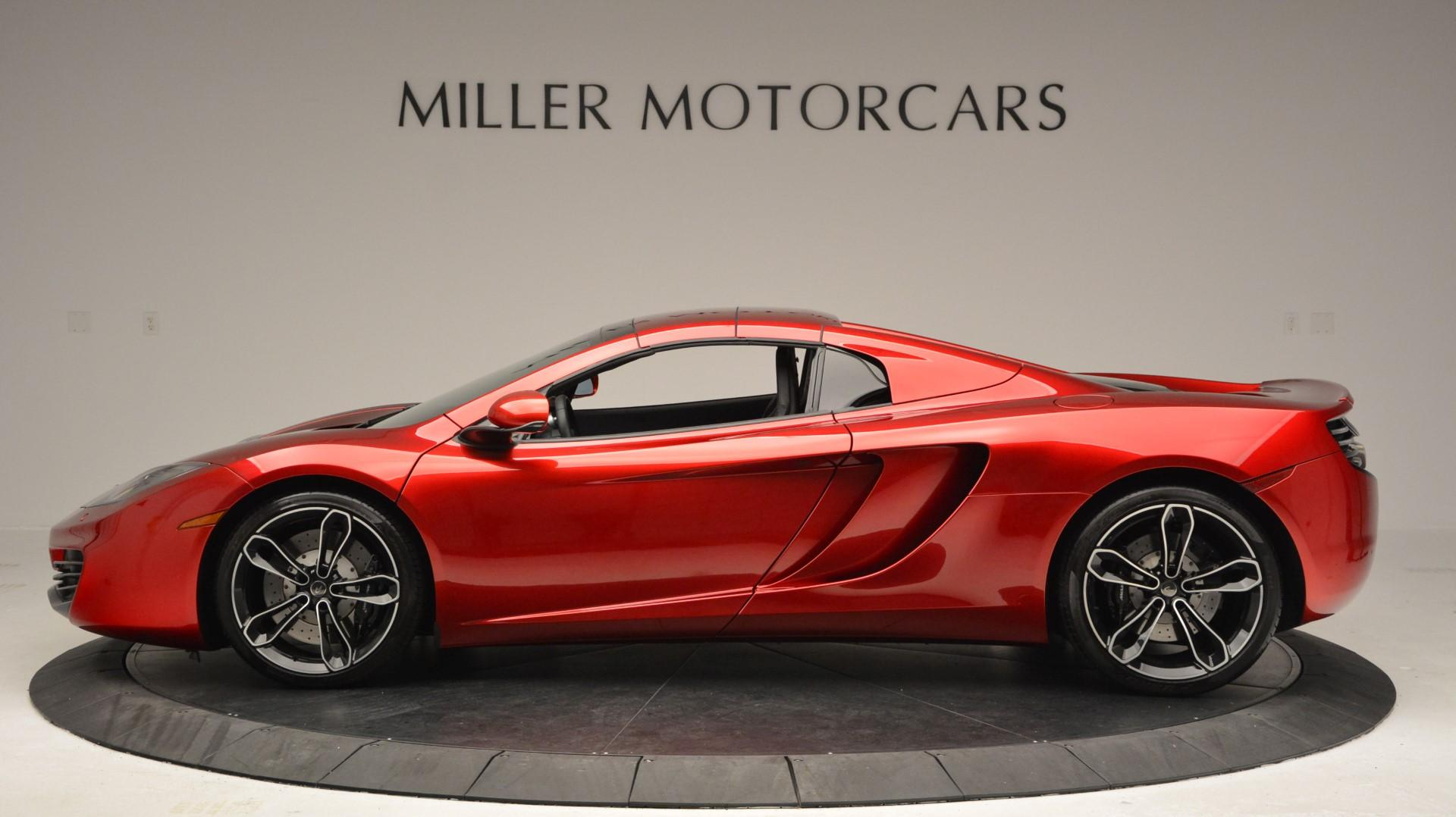 Used 2013 McLaren 12C Spider  For Sale In Greenwich, CT. Alfa Romeo of Greenwich, 3045 67_p16