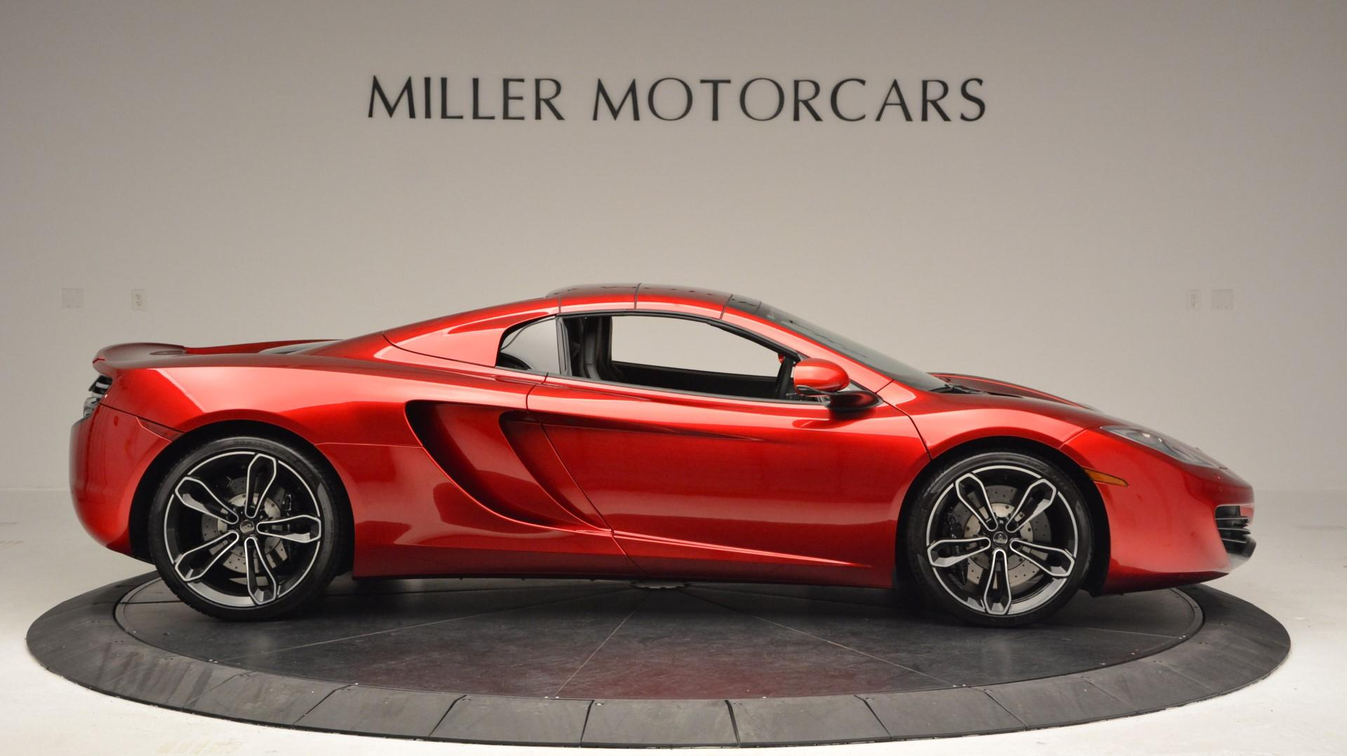 Used 2013 McLaren 12C Spider  For Sale In Greenwich, CT. Alfa Romeo of Greenwich, 3045 67_p20