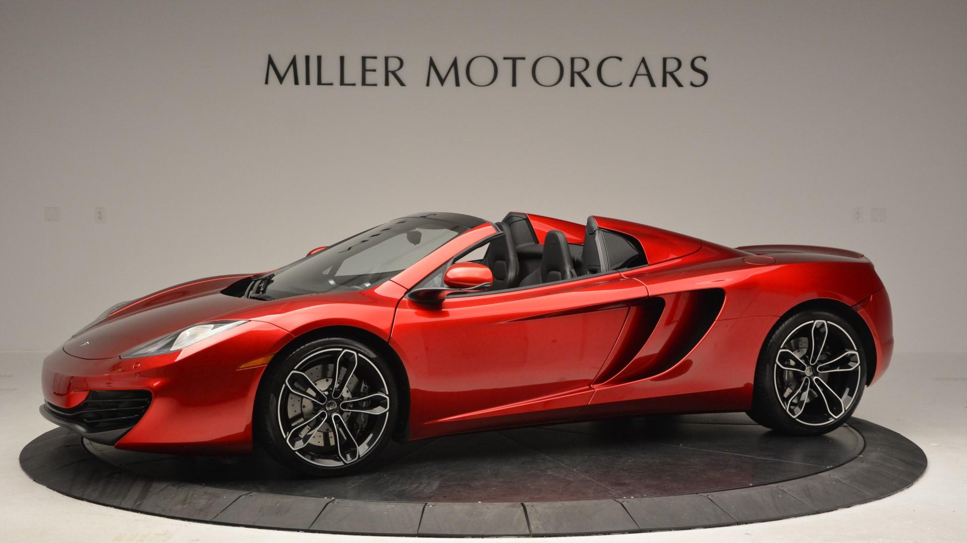 Used 2013 McLaren 12C Spider  For Sale In Greenwich, CT. Alfa Romeo of Greenwich, 3045 67_p2