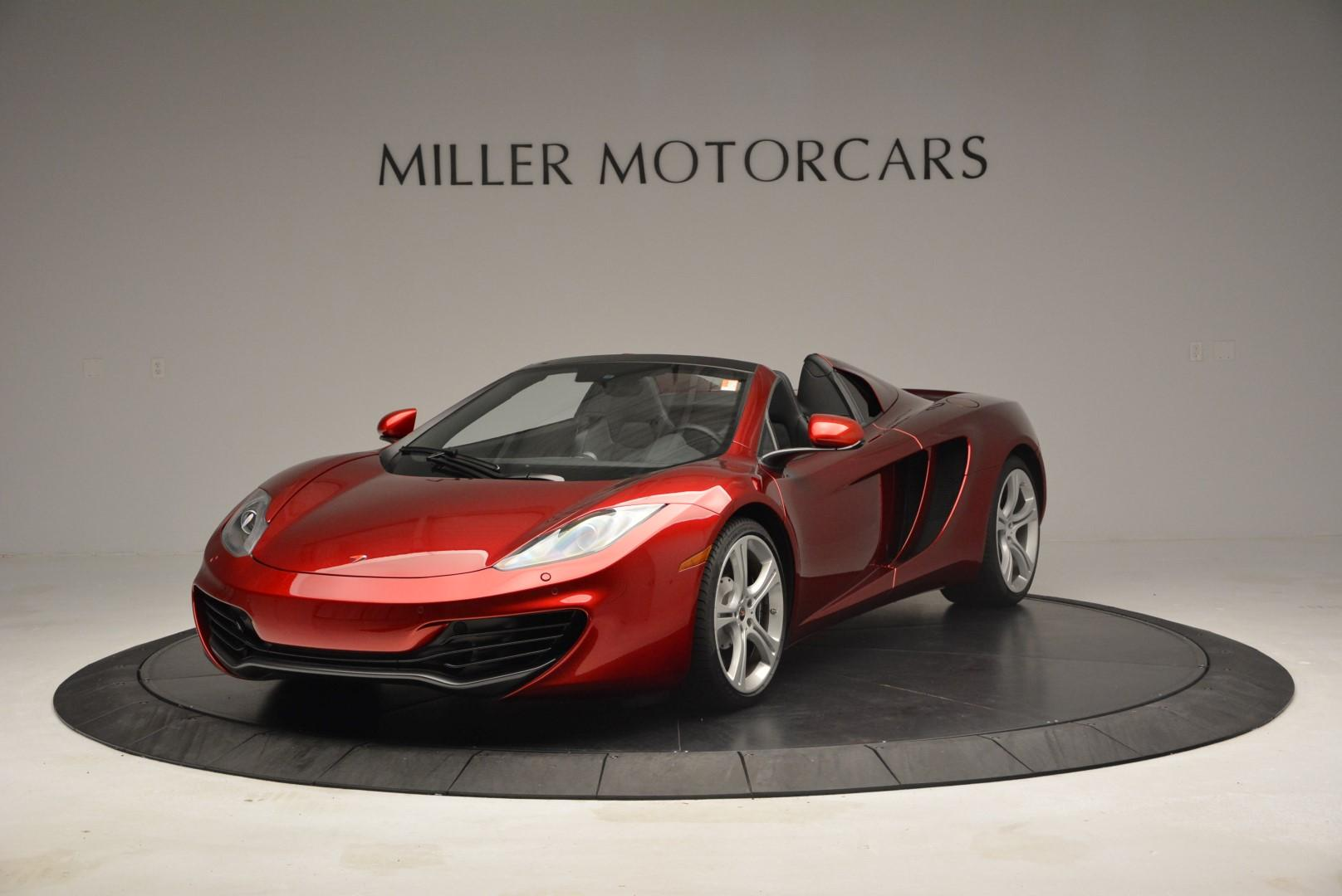 Used 2013 McLaren 12C Spider  For Sale In Greenwich, CT. Alfa Romeo of Greenwich, MC189A 68_main