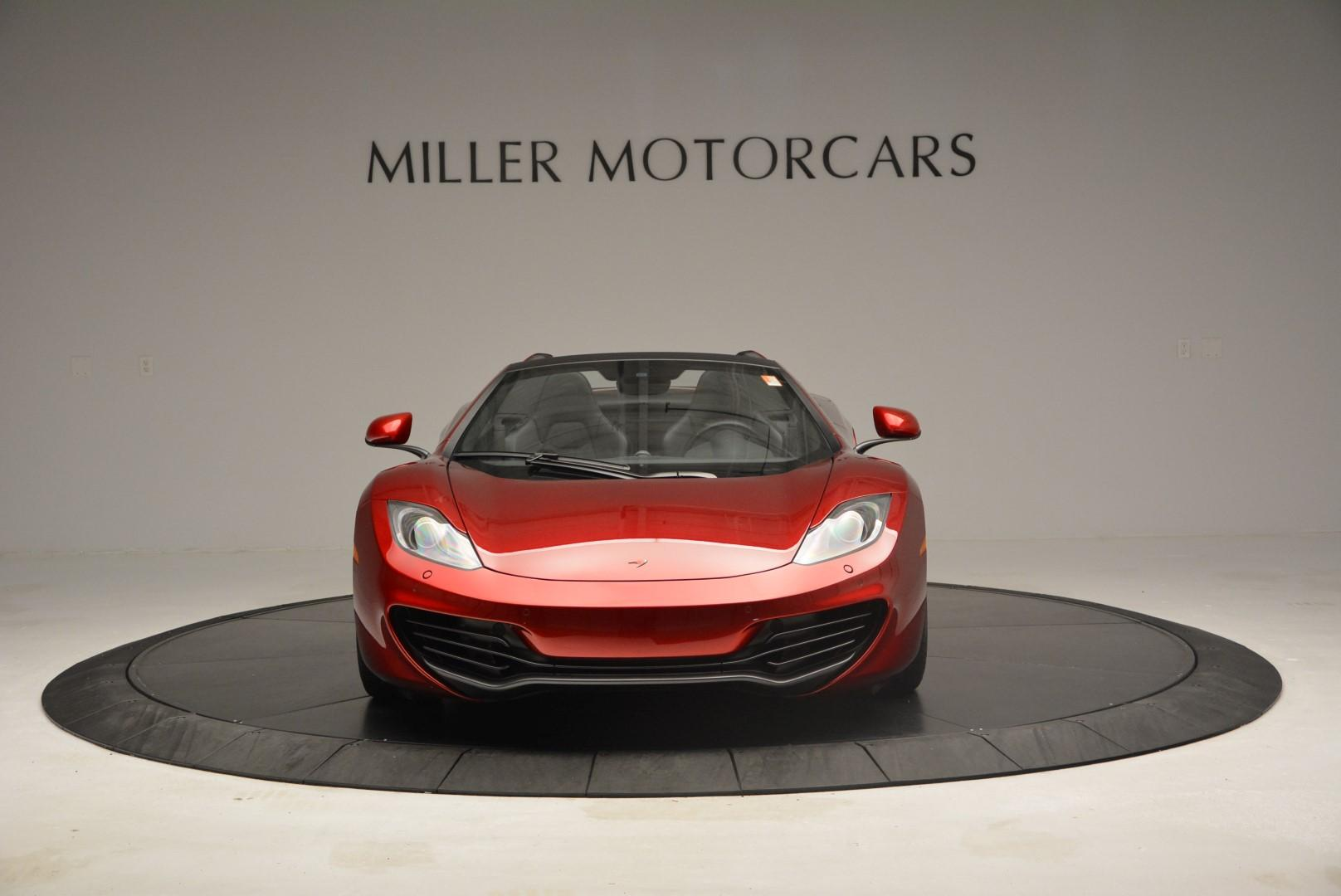 Used 2013 McLaren 12C Spider  For Sale In Greenwich, CT. Alfa Romeo of Greenwich, MC189A 68_p12