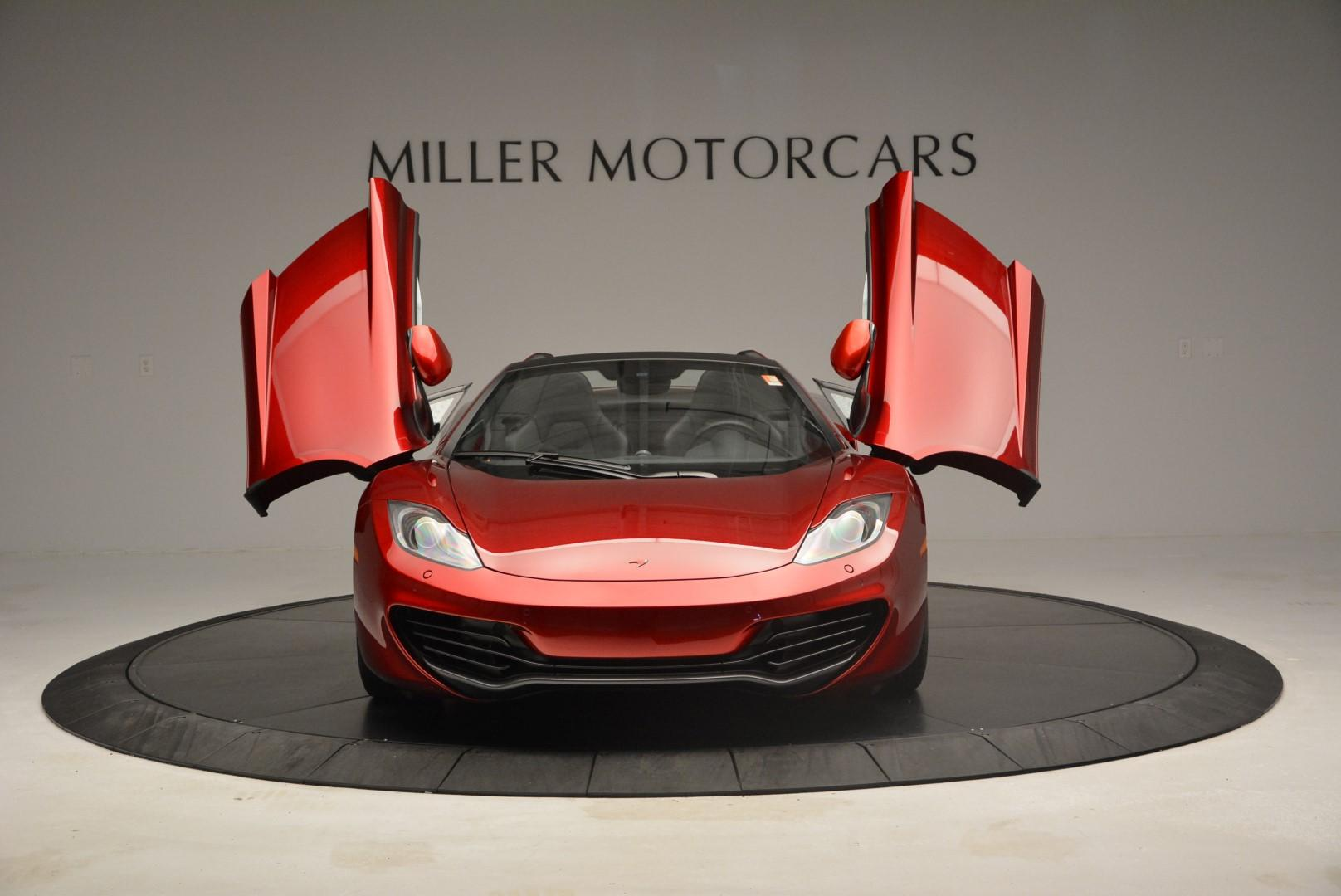 Used 2013 McLaren 12C Spider  For Sale In Greenwich, CT. Alfa Romeo of Greenwich, MC189A 68_p13