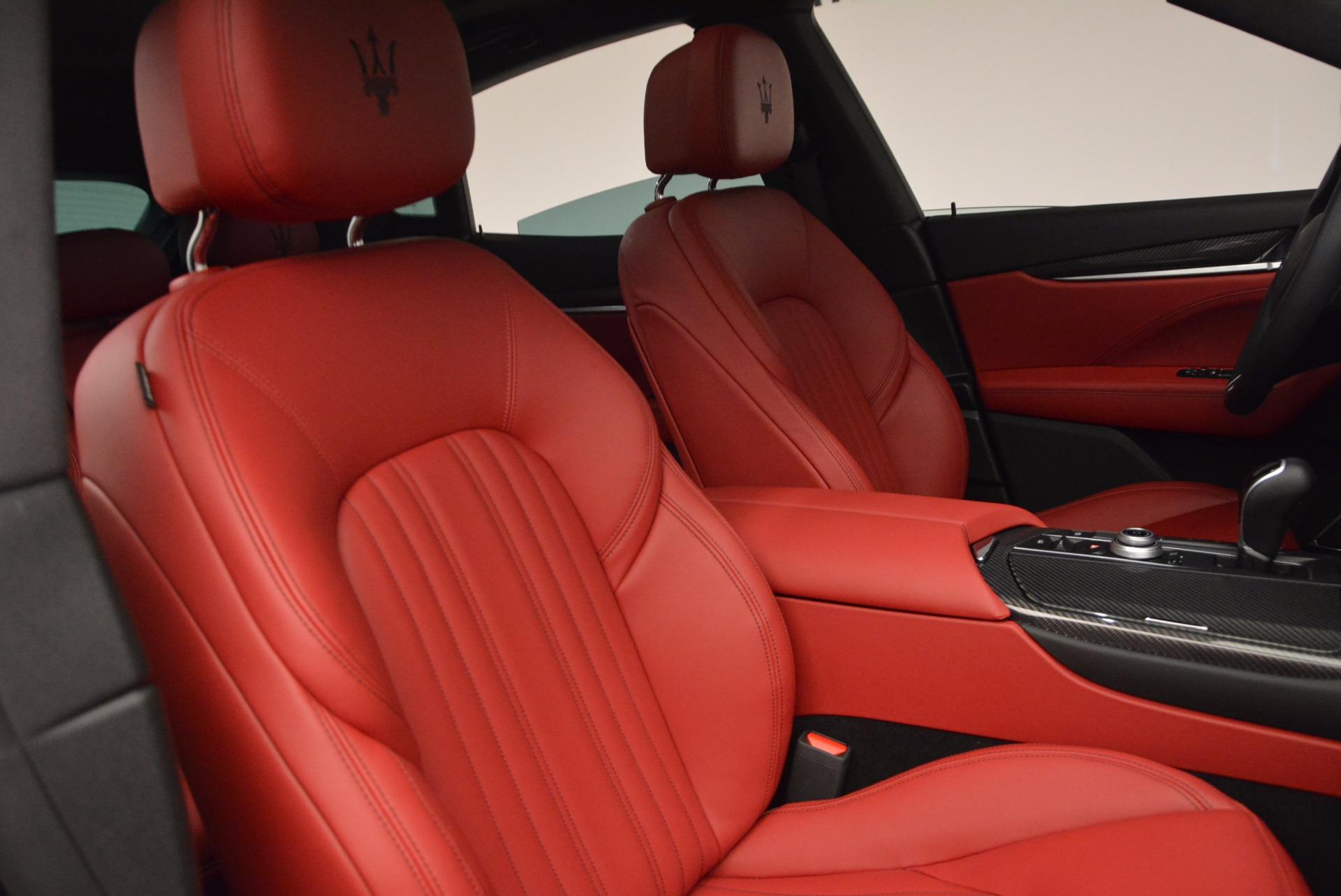 Used 2017 Maserati Levante S Q4 For Sale In Greenwich, CT. Alfa Romeo of Greenwich, M1712 681_p22