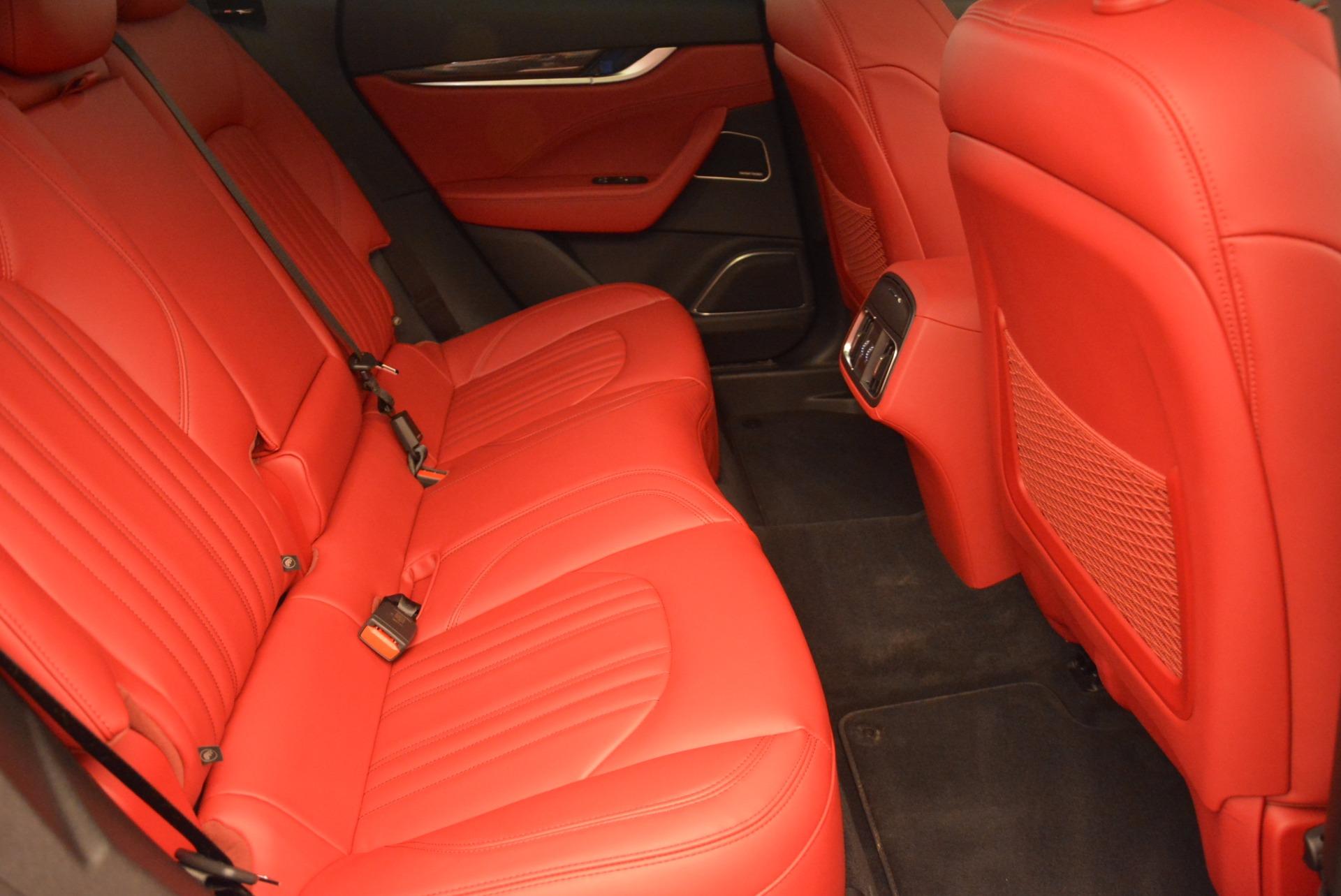 Used 2017 Maserati Levante S Q4 For Sale In Greenwich, CT. Alfa Romeo of Greenwich, M1712 681_p24