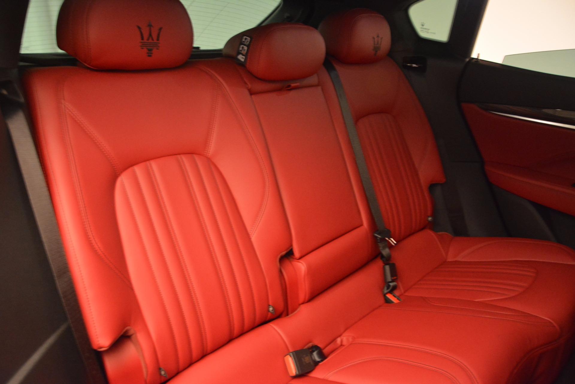 Used 2017 Maserati Levante S Q4 For Sale In Greenwich, CT. Alfa Romeo of Greenwich, M1712 681_p25