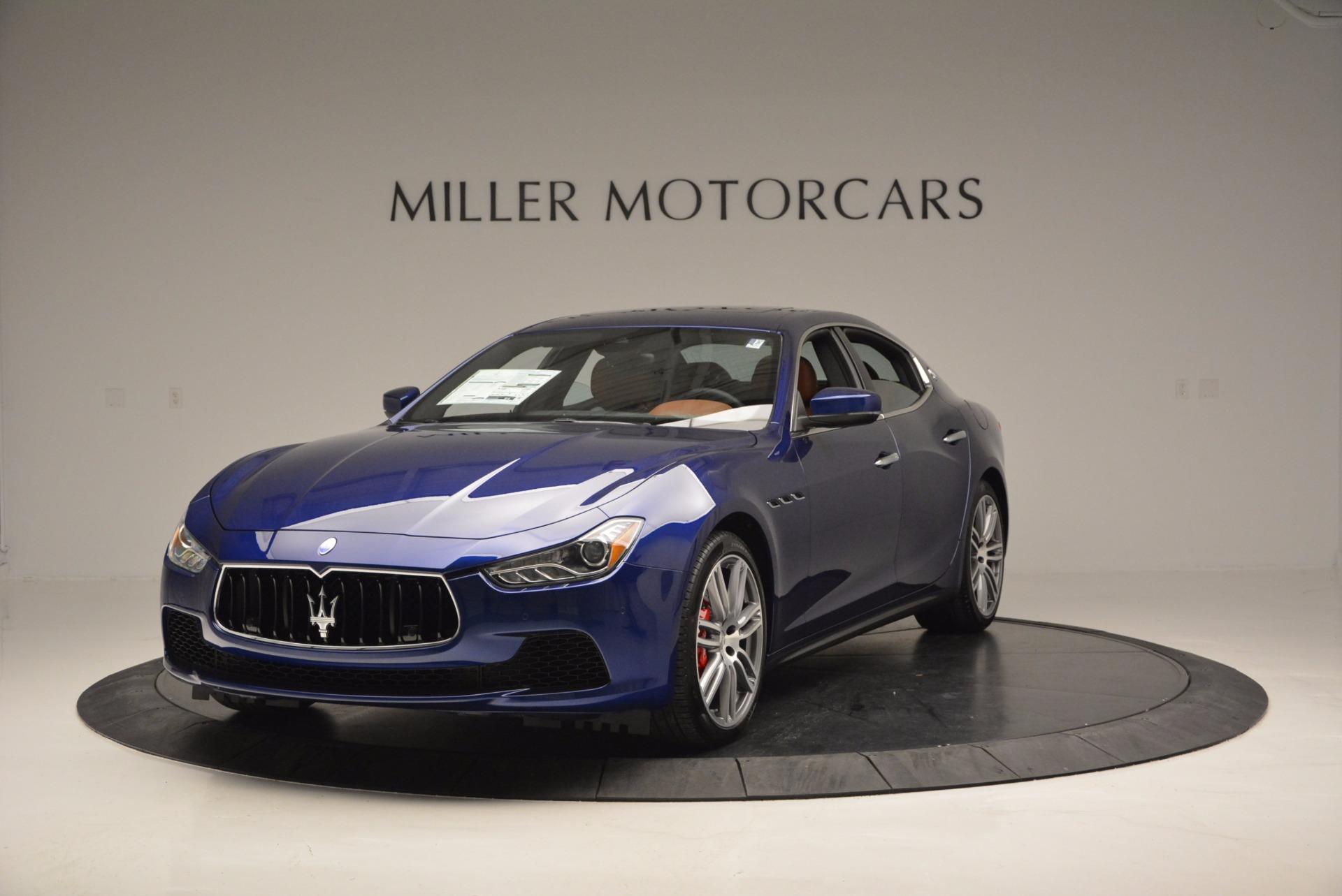 New 2017 Maserati Ghibli S Q4 For Sale In Greenwich, CT. Alfa Romeo of Greenwich, M1710 683_main