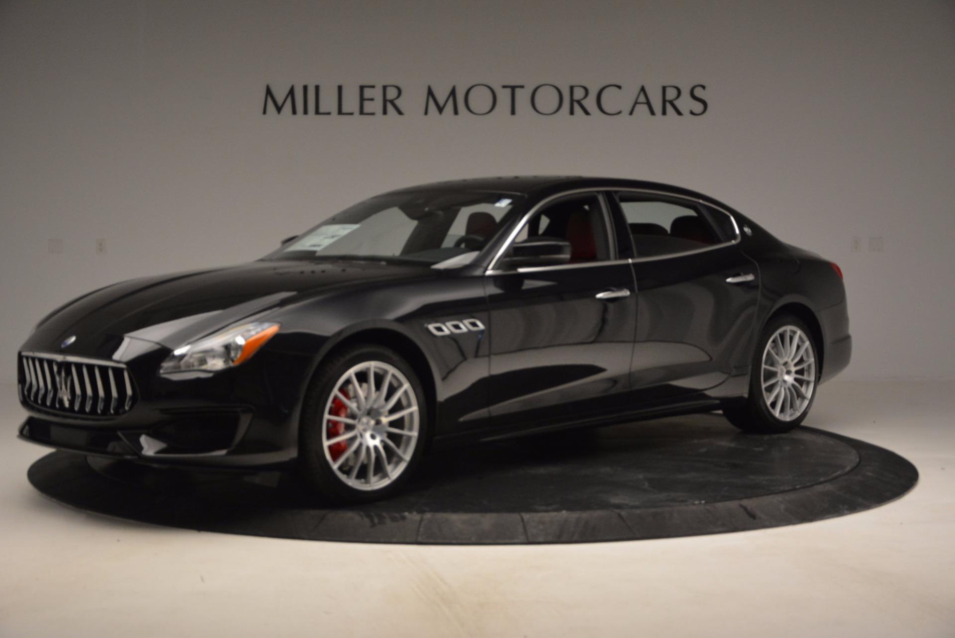 New 2017 Maserati Quattroporte S Q4 GranSport For Sale In Greenwich, CT. Alfa Romeo of Greenwich, W350 685_p2