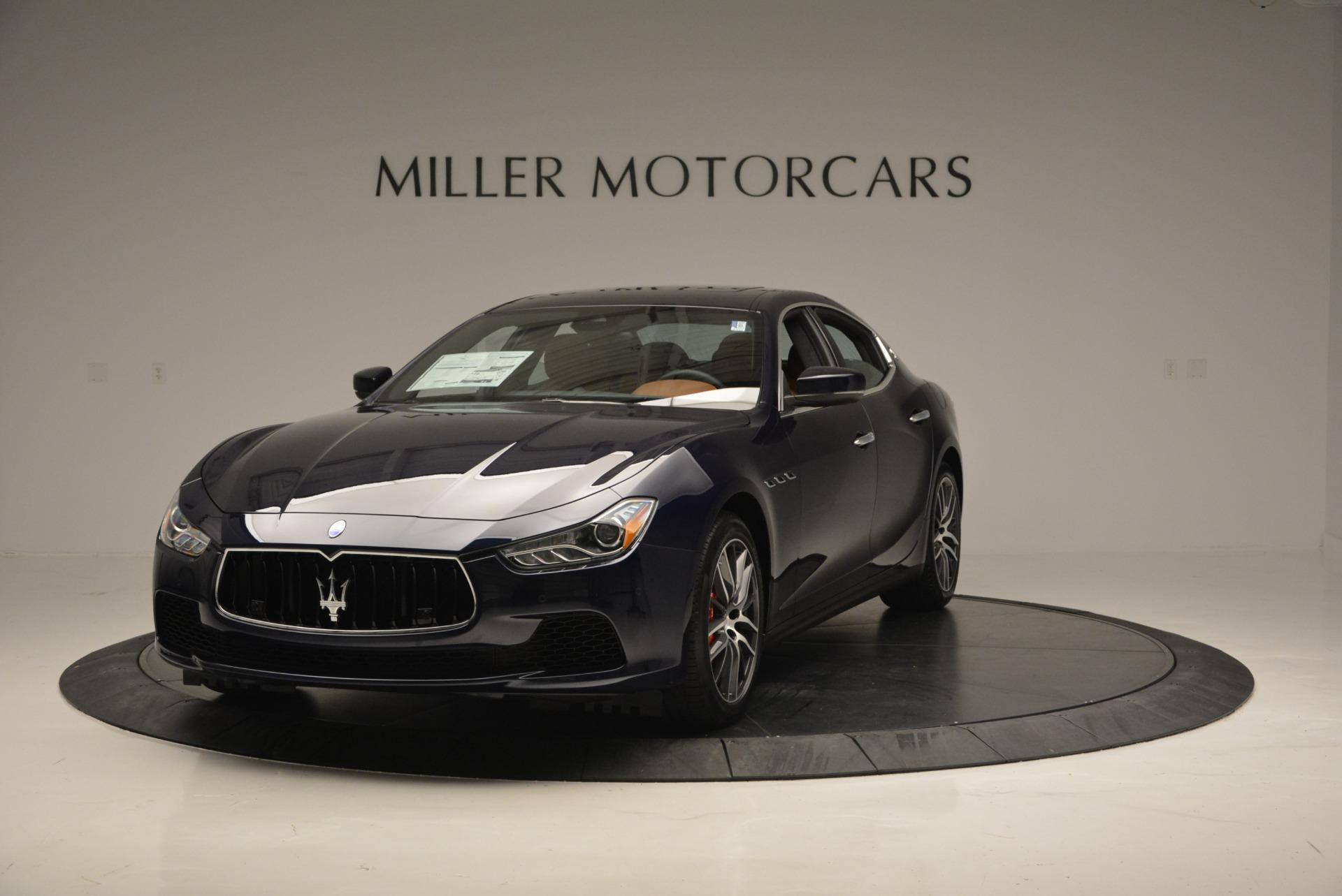 New 2017 Maserati Ghibli S Q4 For Sale In Greenwich, CT. Alfa Romeo of Greenwich, W351 686_main