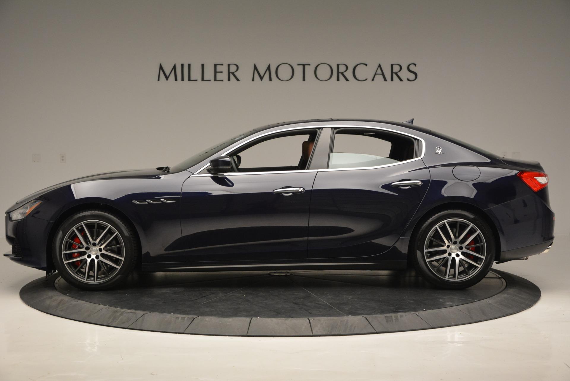 New 2017 Maserati Ghibli S Q4 For Sale In Greenwich, CT. Alfa Romeo of Greenwich, W351 686_p3