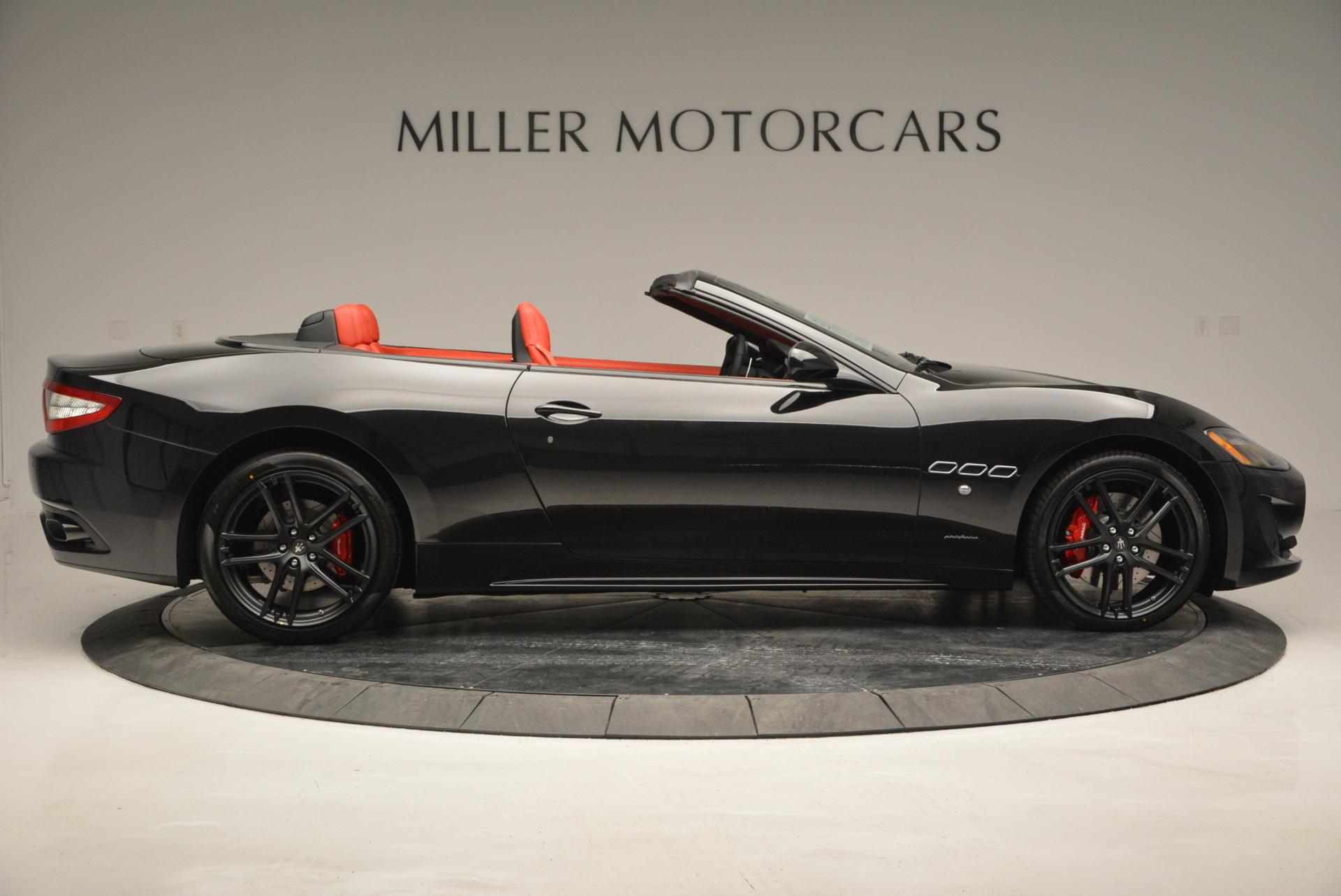 New 2017 Maserati GranTurismo Cab Sport For Sale In Greenwich, CT. Alfa Romeo of Greenwich, M1713 687_p12