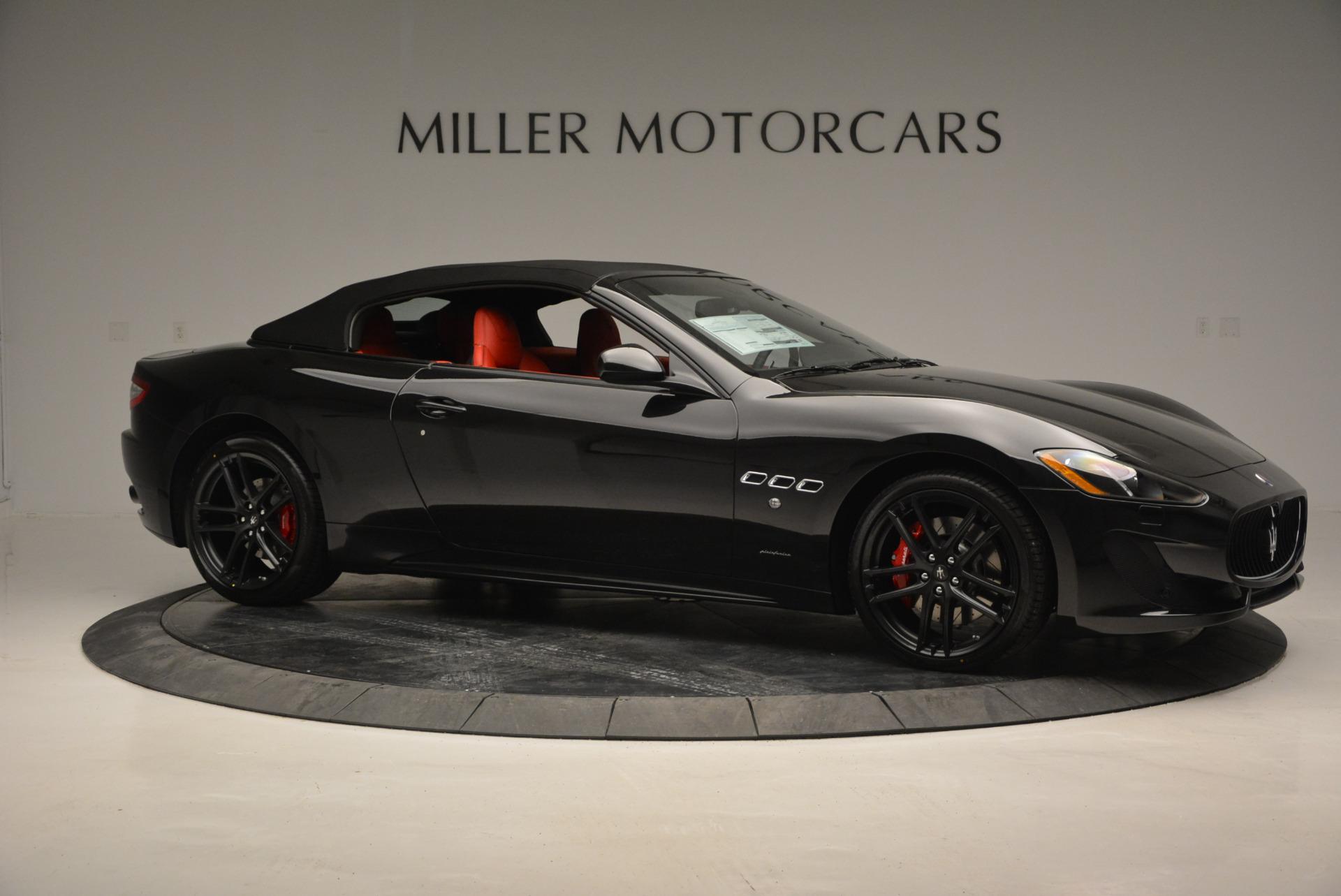 New 2017 Maserati GranTurismo Cab Sport For Sale In Greenwich, CT. Alfa Romeo of Greenwich, M1713 687_p15