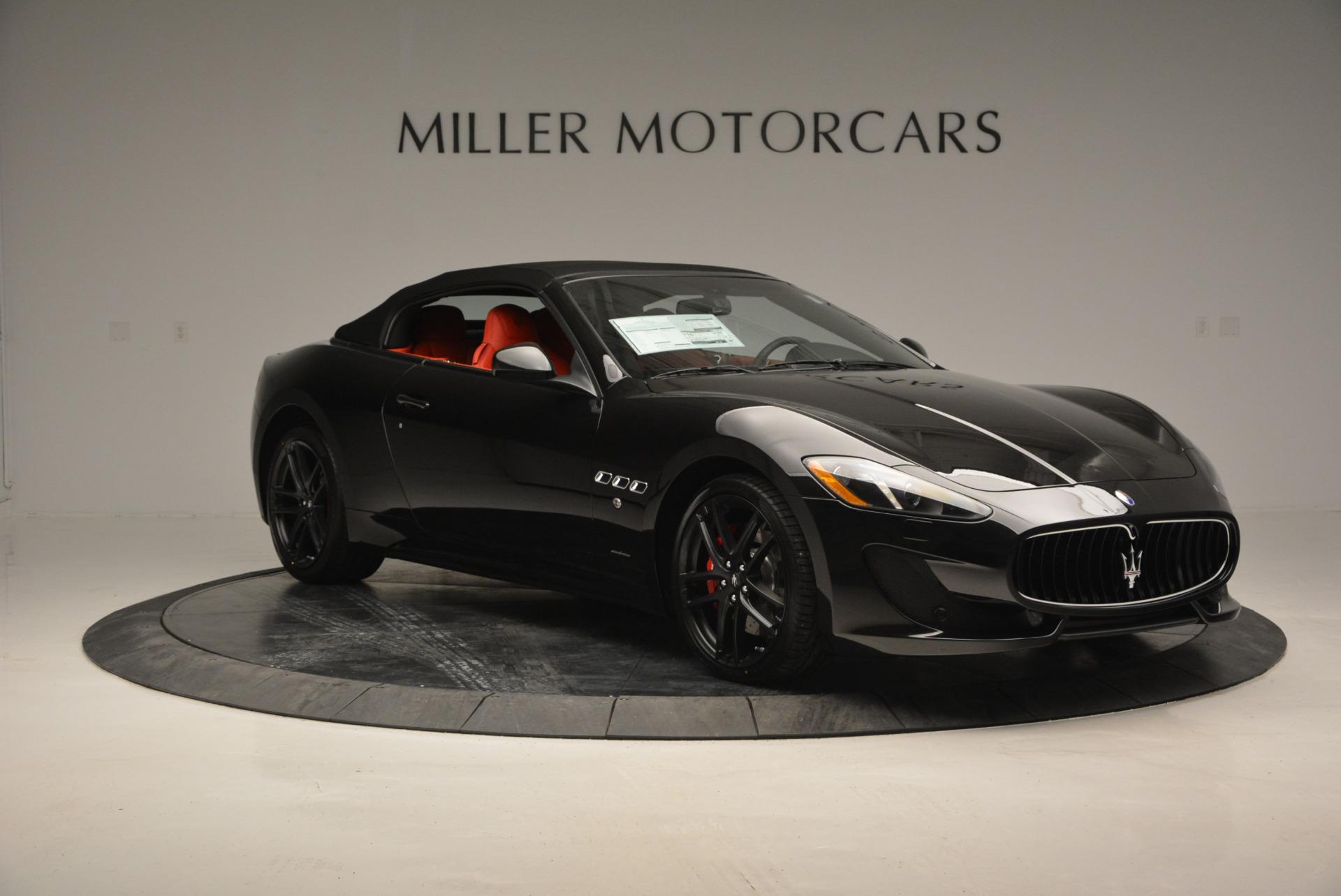 New 2017 Maserati GranTurismo Cab Sport For Sale In Greenwich, CT. Alfa Romeo of Greenwich, M1713 687_p16