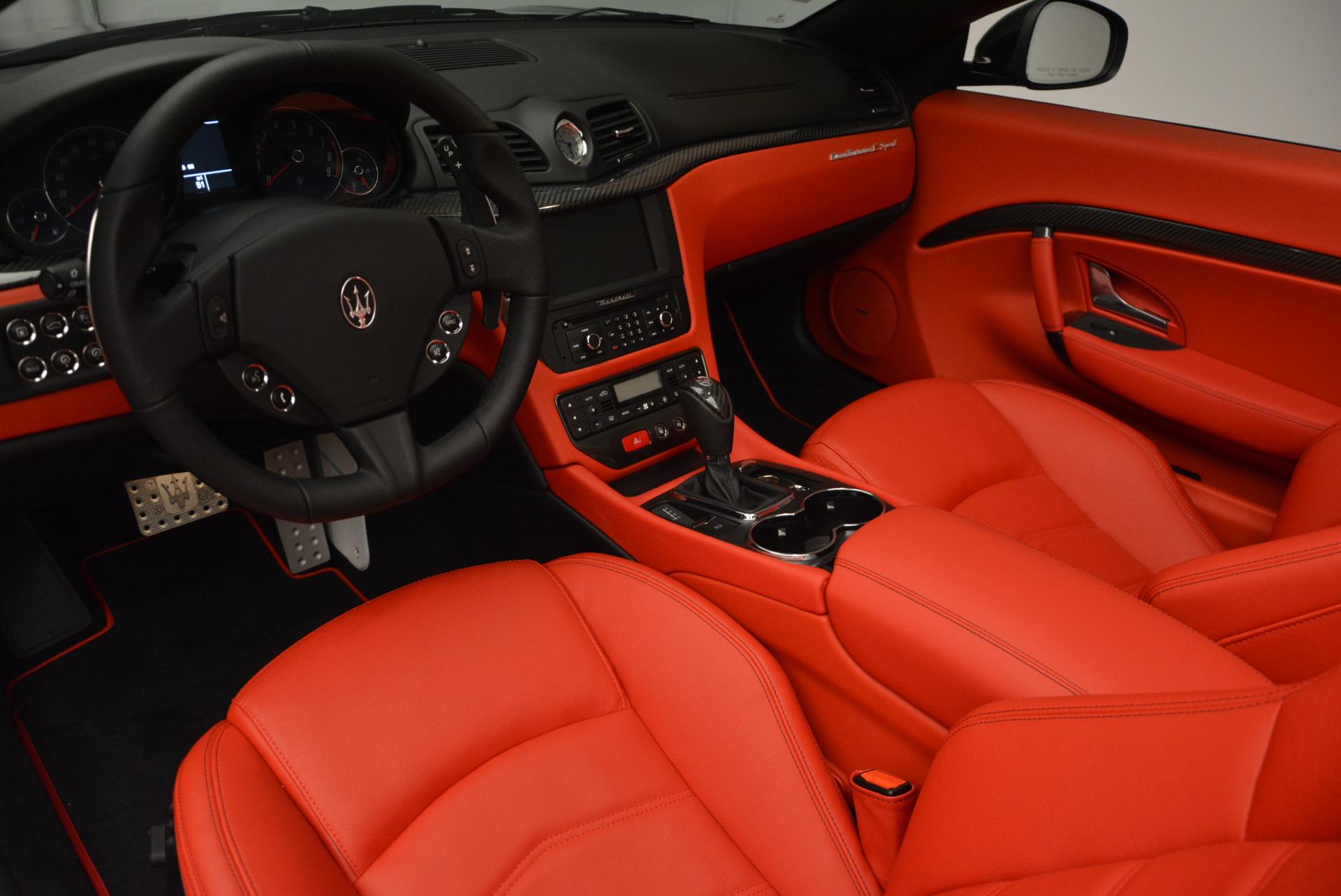 New 2017 Maserati GranTurismo Cab Sport For Sale In Greenwich, CT. Alfa Romeo of Greenwich, M1713 687_p20