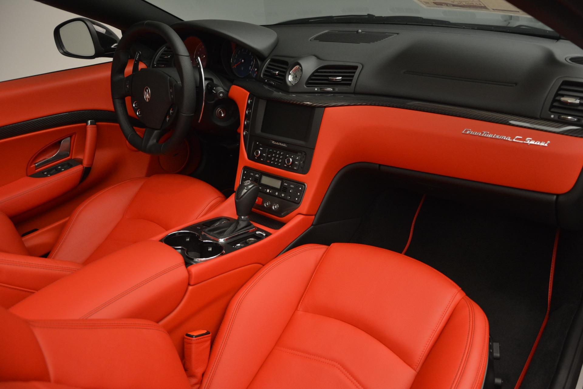 New 2017 Maserati GranTurismo Cab Sport For Sale In Greenwich, CT. Alfa Romeo of Greenwich, M1713 687_p32