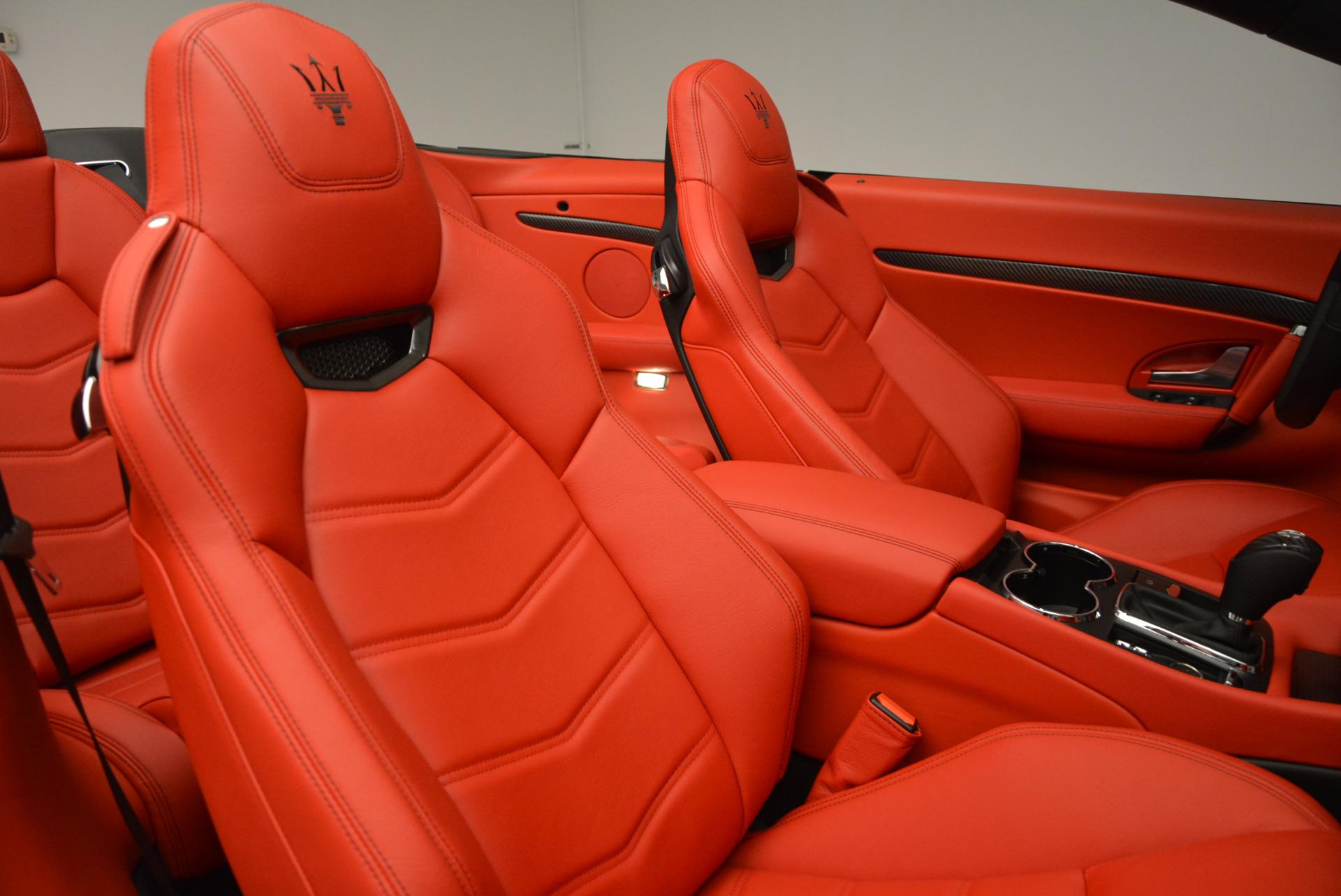 New 2017 Maserati GranTurismo Cab Sport For Sale In Greenwich, CT. Alfa Romeo of Greenwich, M1713 687_p34