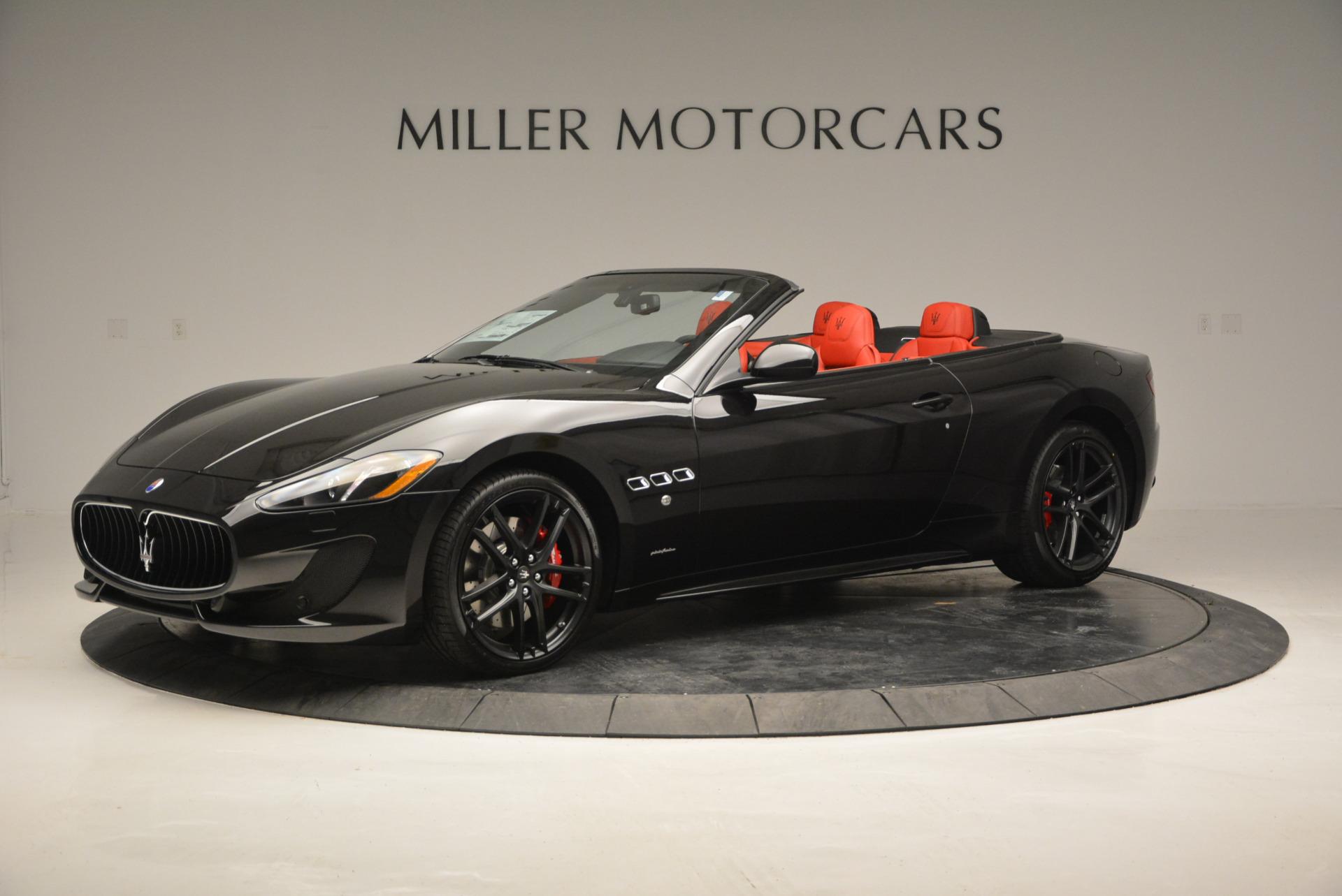 New 2017 Maserati GranTurismo Cab Sport For Sale In Greenwich, CT. Alfa Romeo of Greenwich, M1713 687_p3