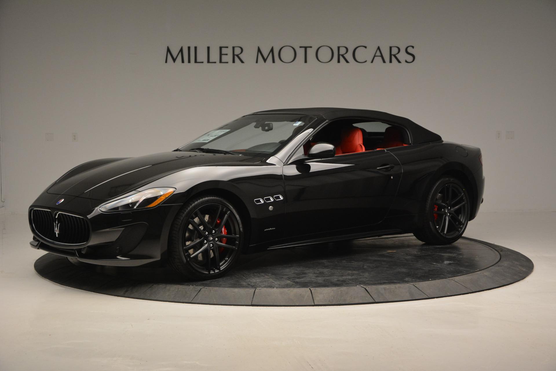 New 2017 Maserati GranTurismo Cab Sport For Sale In Greenwich, CT. Alfa Romeo of Greenwich, M1713 687_p4