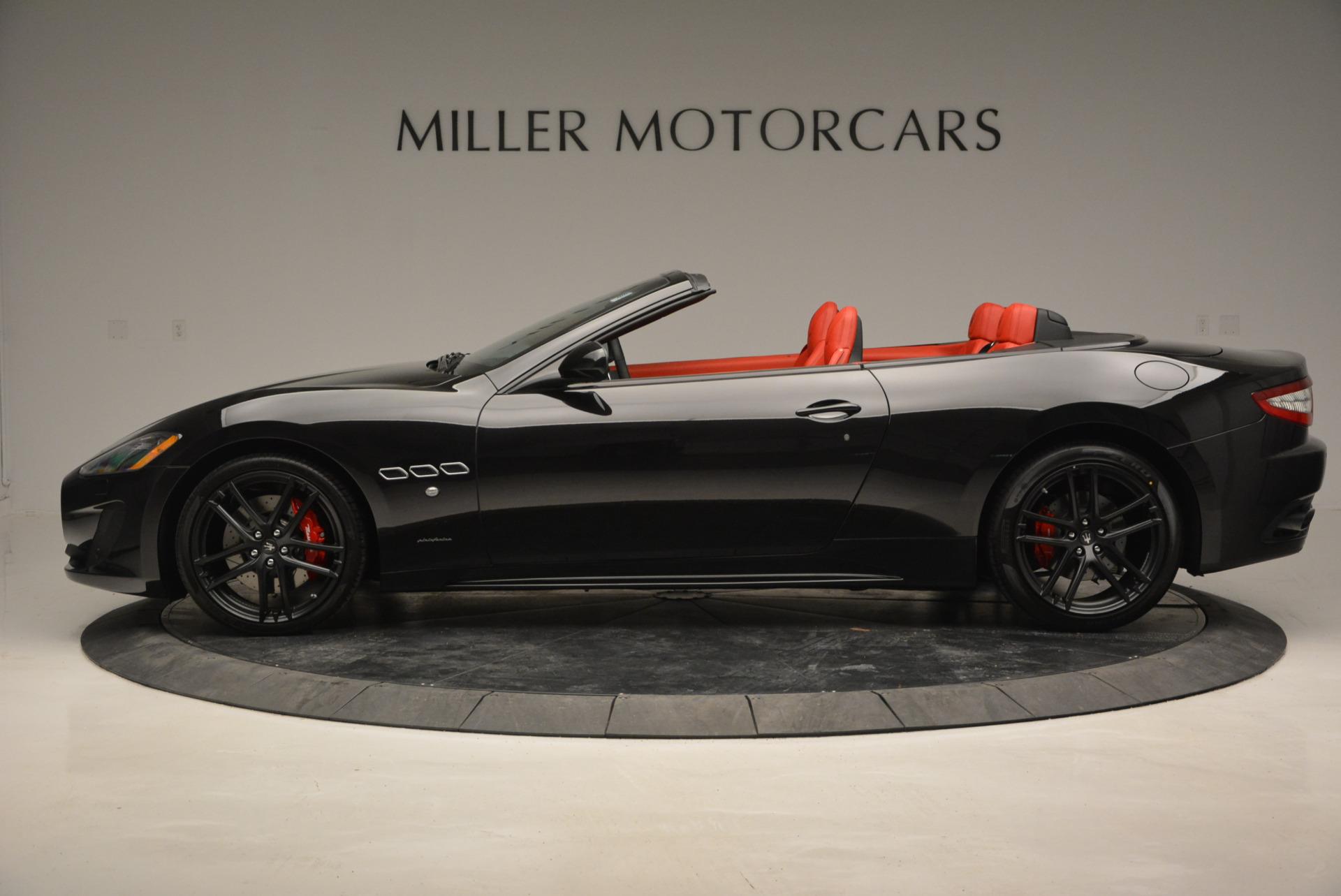 New 2017 Maserati GranTurismo Cab Sport For Sale In Greenwich, CT. Alfa Romeo of Greenwich, M1713 687_p5