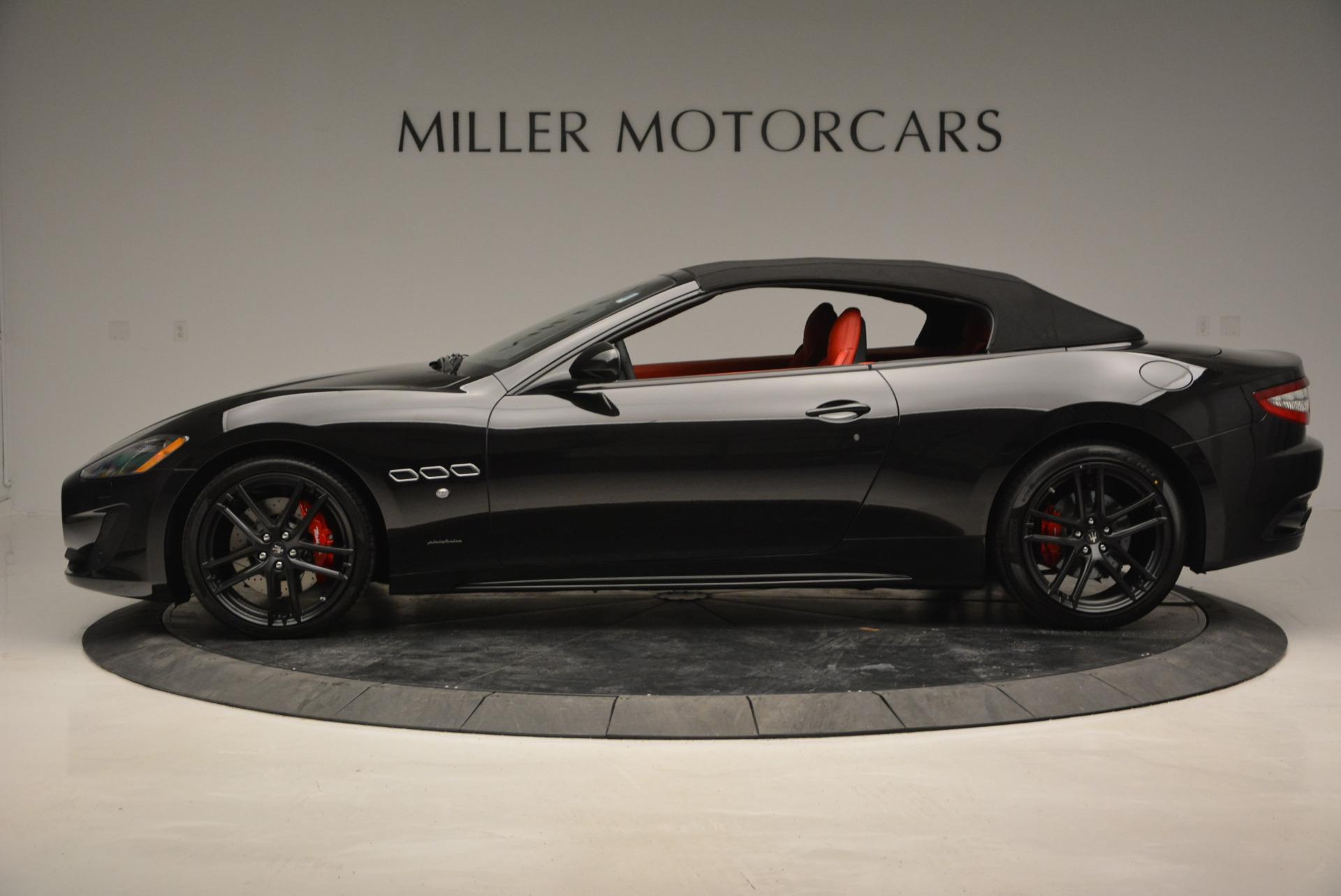 New 2017 Maserati GranTurismo Cab Sport For Sale In Greenwich, CT. Alfa Romeo of Greenwich, M1713 687_p6