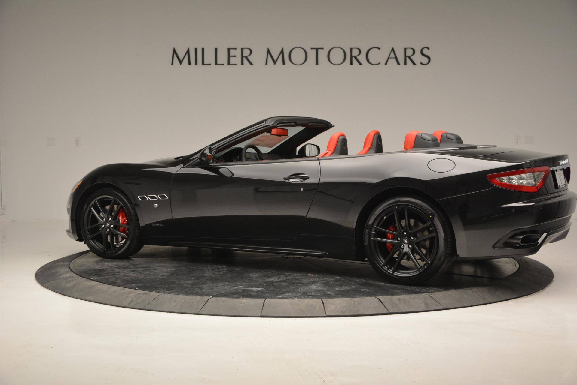 New 2017 Maserati GranTurismo Cab Sport For Sale In Greenwich, CT. Alfa Romeo of Greenwich, M1713 687_p7