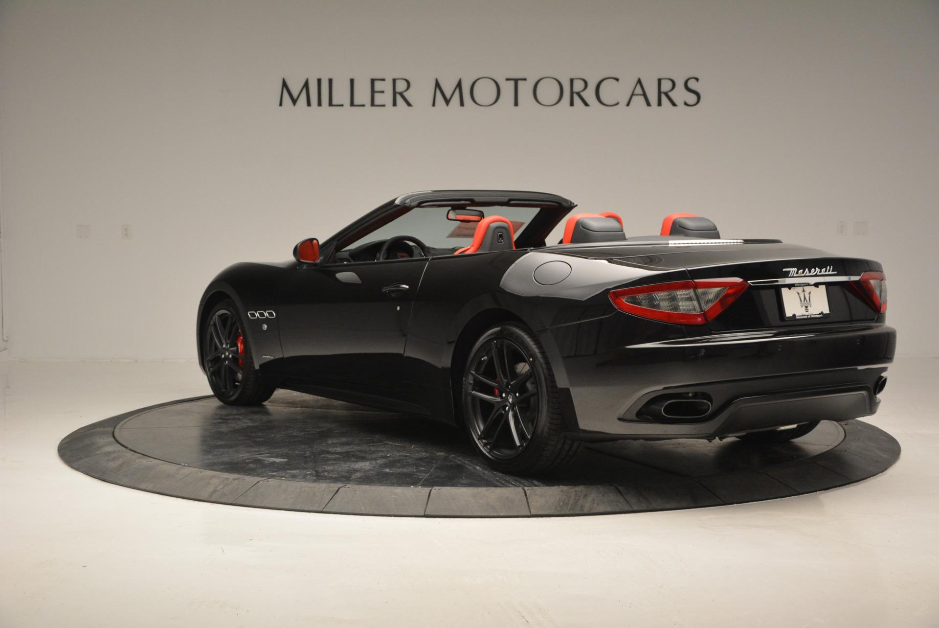 New 2017 Maserati GranTurismo Cab Sport For Sale In Greenwich, CT. Alfa Romeo of Greenwich, M1713 687_p8