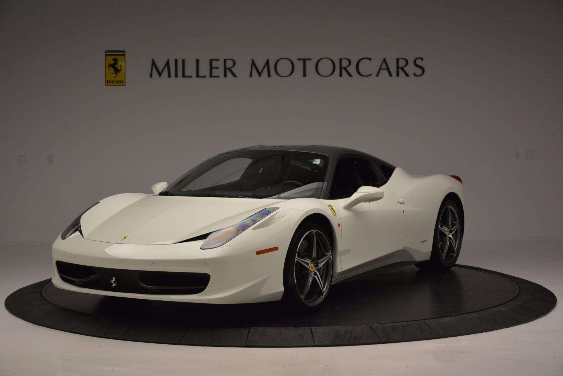 Used 2012 Ferrari 458 Italia  For Sale In Greenwich, CT. Alfa Romeo of Greenwich, 4361 709_main