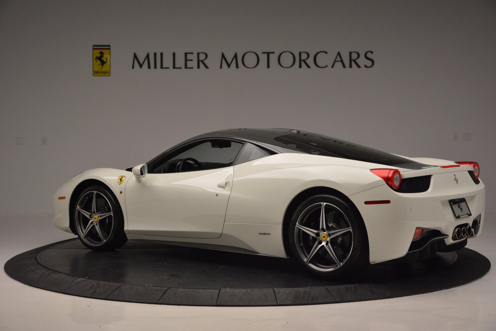 Used 2012 Ferrari 458 Italia  For Sale In Greenwich, CT. Alfa Romeo of Greenwich, 4361 709_p4