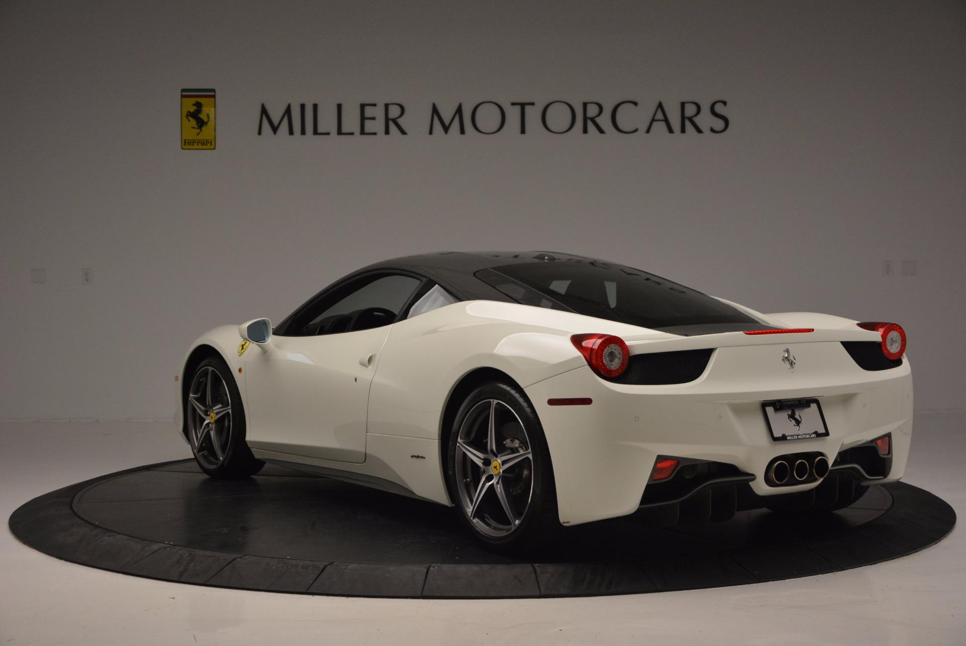 Used 2012 Ferrari 458 Italia  For Sale In Greenwich, CT. Alfa Romeo of Greenwich, 4361 709_p5