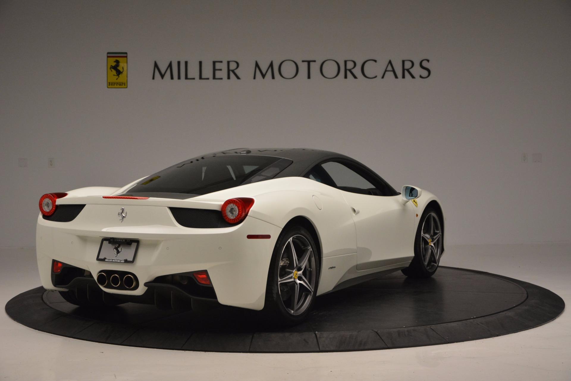 Used 2012 Ferrari 458 Italia  For Sale In Greenwich, CT. Alfa Romeo of Greenwich, 4361 709_p7