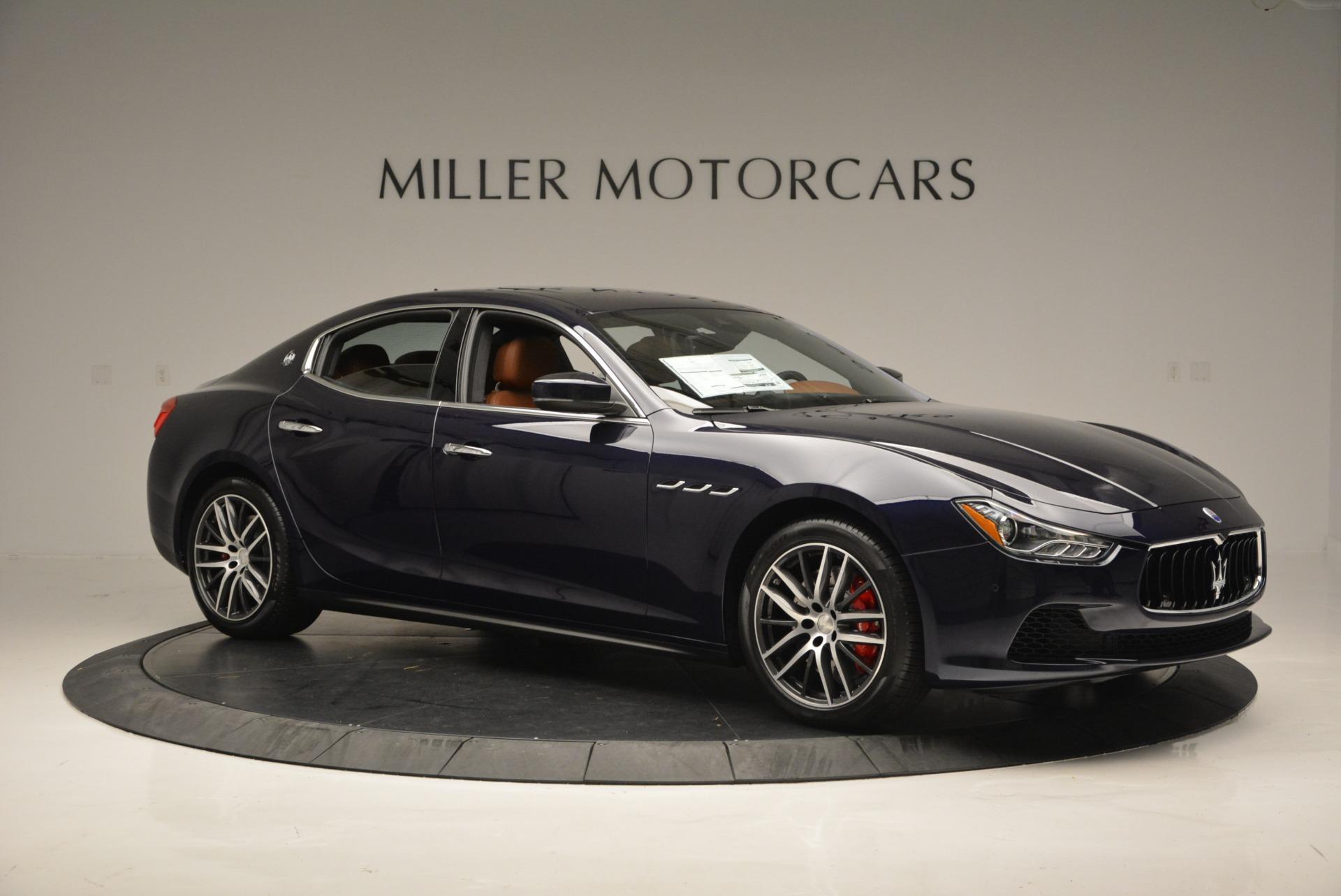 New 2017 Maserati Ghibli S Q4 For Sale In Greenwich, CT. Alfa Romeo of Greenwich, M1728 711_p10