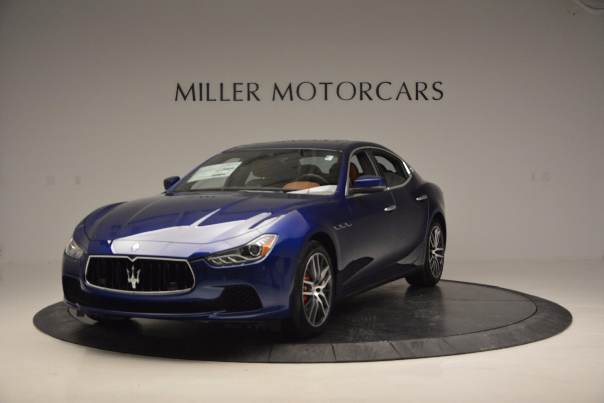 New 2017 Maserati Ghibli S Q4 For Sale In Greenwich, CT. Alfa Romeo of Greenwich, M1730 712_main