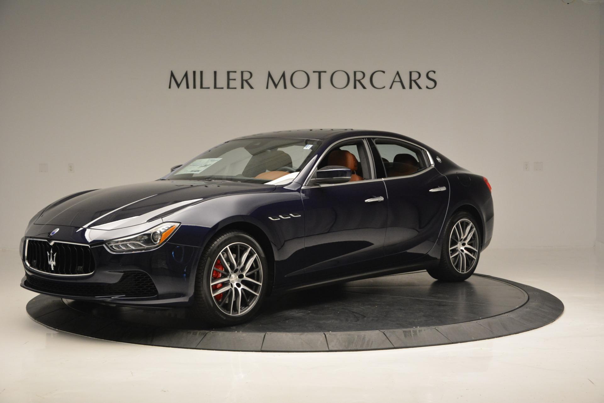 New 2017 Maserati Ghibli S Q4 For Sale In Greenwich, CT. Alfa Romeo of Greenwich, M1734 713_p2