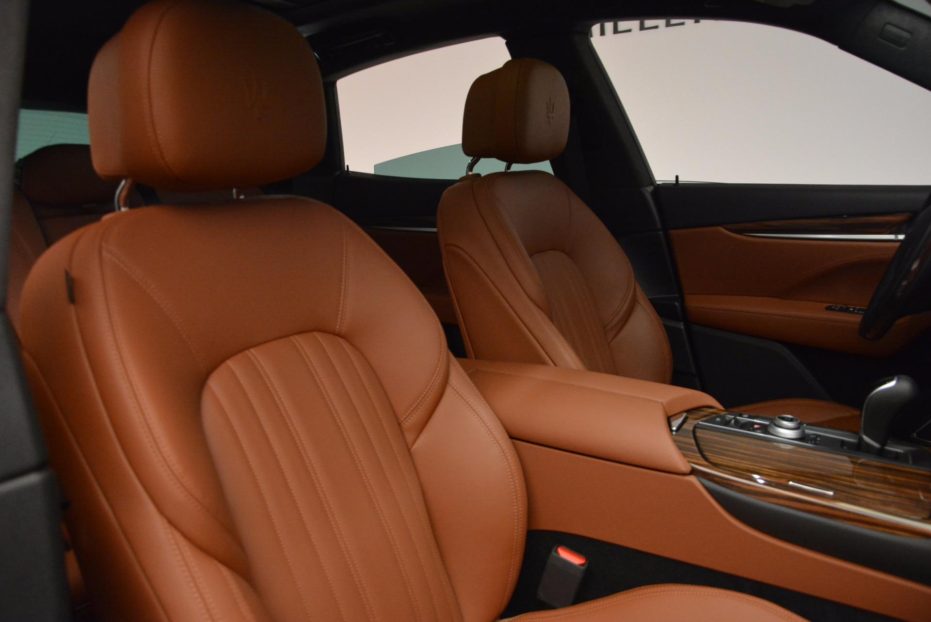 New 2017 Maserati Levante S For Sale In Greenwich, CT. Alfa Romeo of Greenwich, W458 717_p22