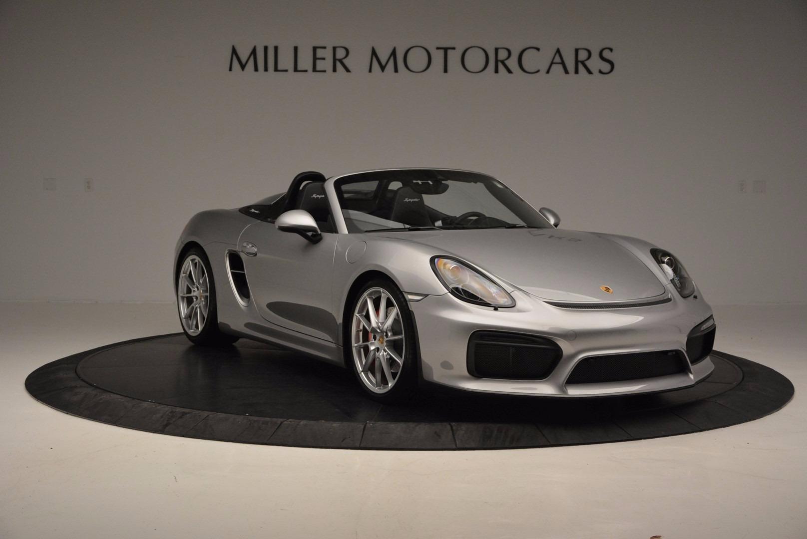 Used 2016 Porsche Boxster Spyder For Sale In Greenwich, CT. Alfa Romeo of Greenwich, 4307A 718_p11