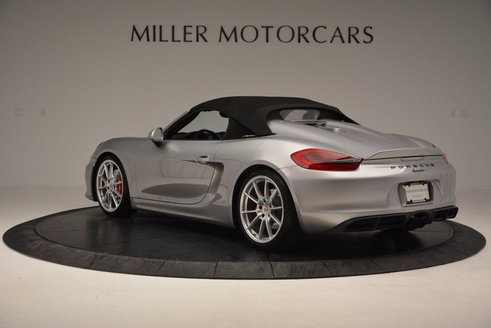 Used 2016 Porsche Boxster Spyder For Sale In Greenwich, CT. Alfa Romeo of Greenwich, 4307A 718_p15