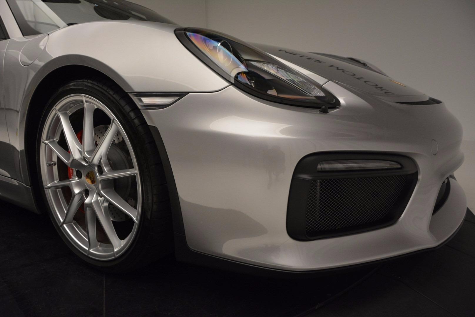 Used 2016 Porsche Boxster Spyder For Sale In Greenwich, CT. Alfa Romeo of Greenwich, 4307A 718_p26