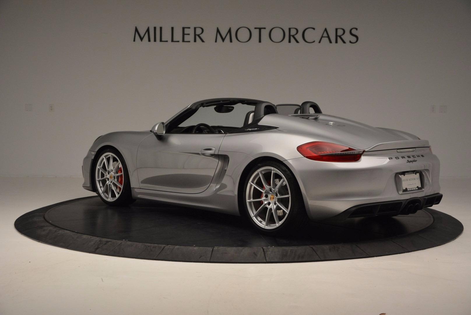 Used 2016 Porsche Boxster Spyder For Sale In Greenwich, CT. Alfa Romeo of Greenwich, 4307A 718_p4