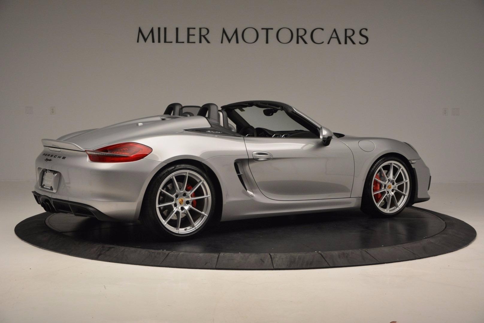 Used 2016 Porsche Boxster Spyder For Sale In Greenwich, CT. Alfa Romeo of Greenwich, 4307A 718_p8