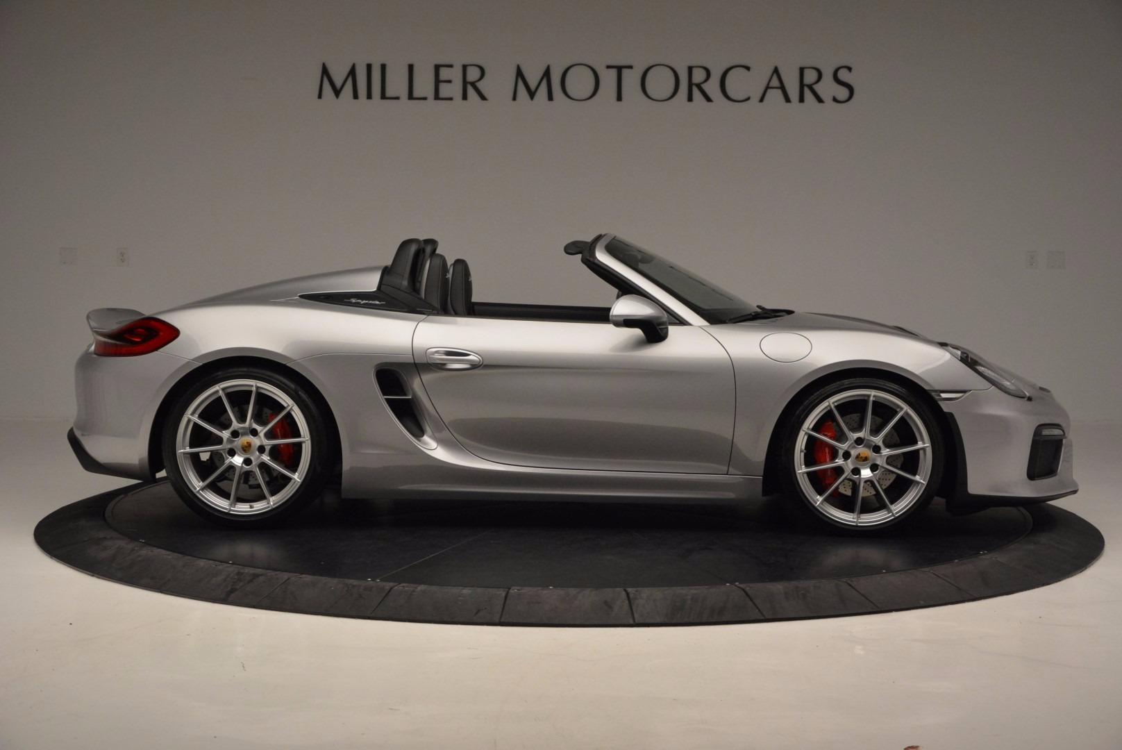 Used 2016 Porsche Boxster Spyder For Sale In Greenwich, CT. Alfa Romeo of Greenwich, 4307A 718_p9