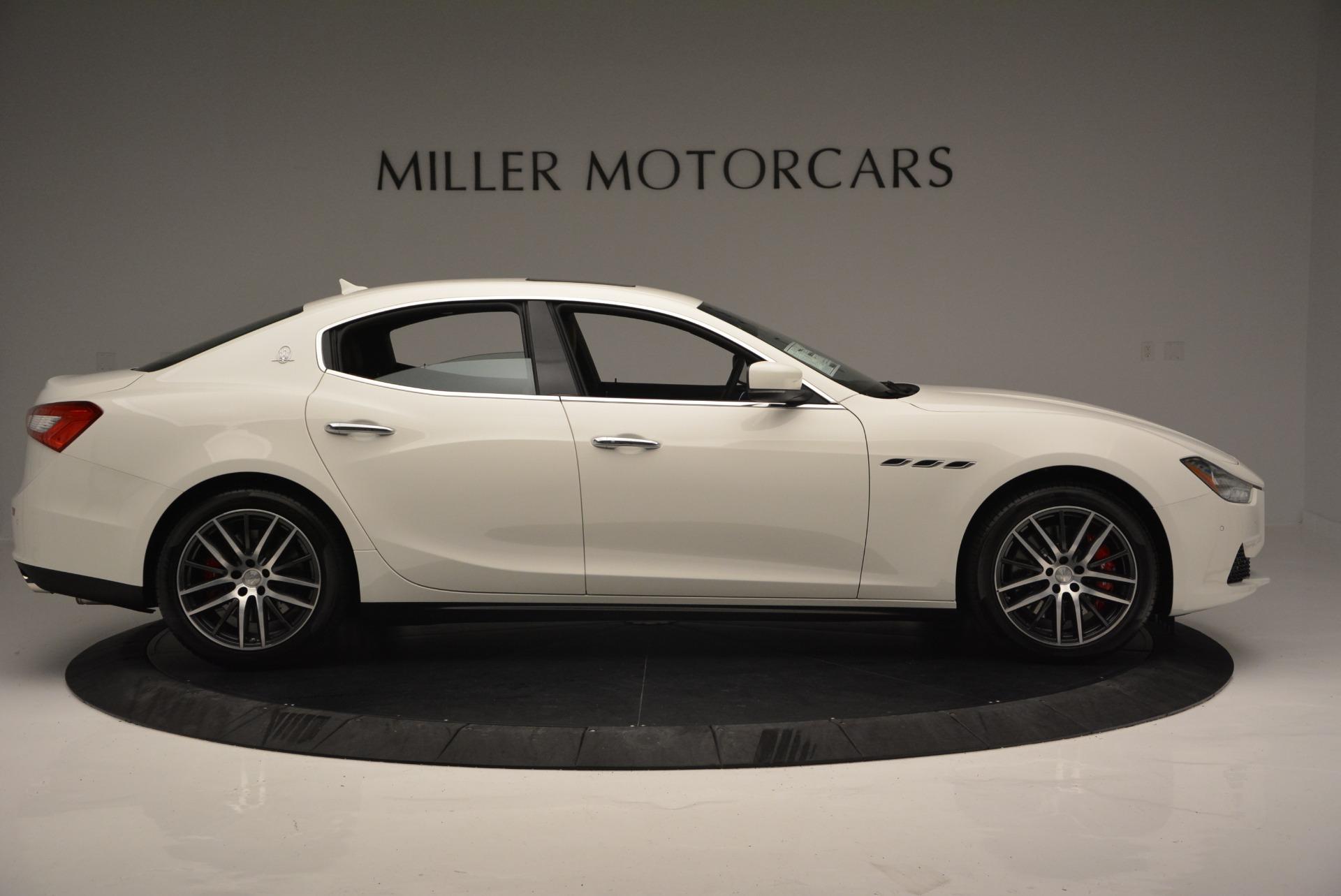 Used 2017 Maserati Ghibli S Q4 Ex-Loaner For Sale In Greenwich, CT. Alfa Romeo of Greenwich, W357 719_p9