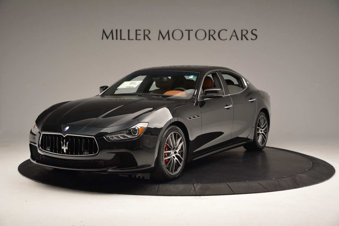 New 2017 Maserati Ghibli S Q4 For Sale In Greenwich, CT. Alfa Romeo of Greenwich, W363 723_main